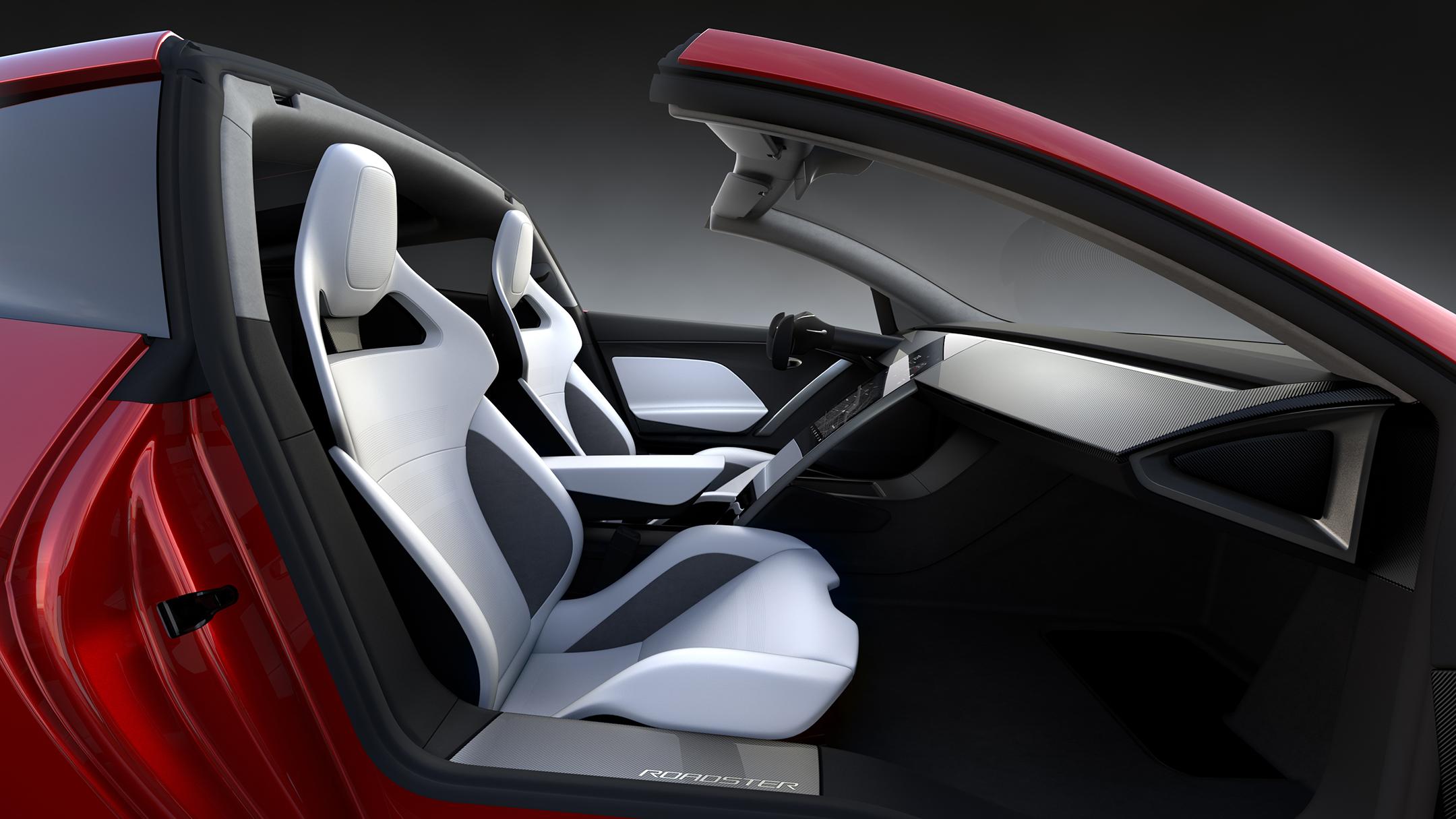 Tesla Roadster 2020 concept - 2017 - interior / intérieur