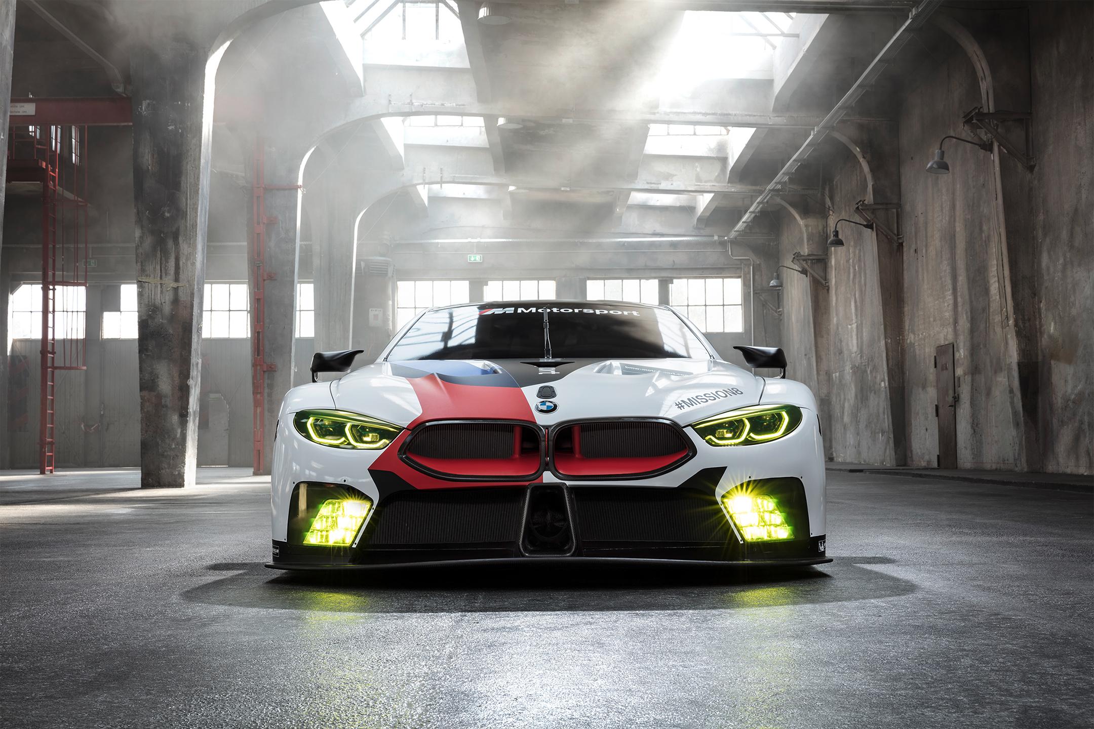 BMW M8 GTE - 2018 - front-face / face avant