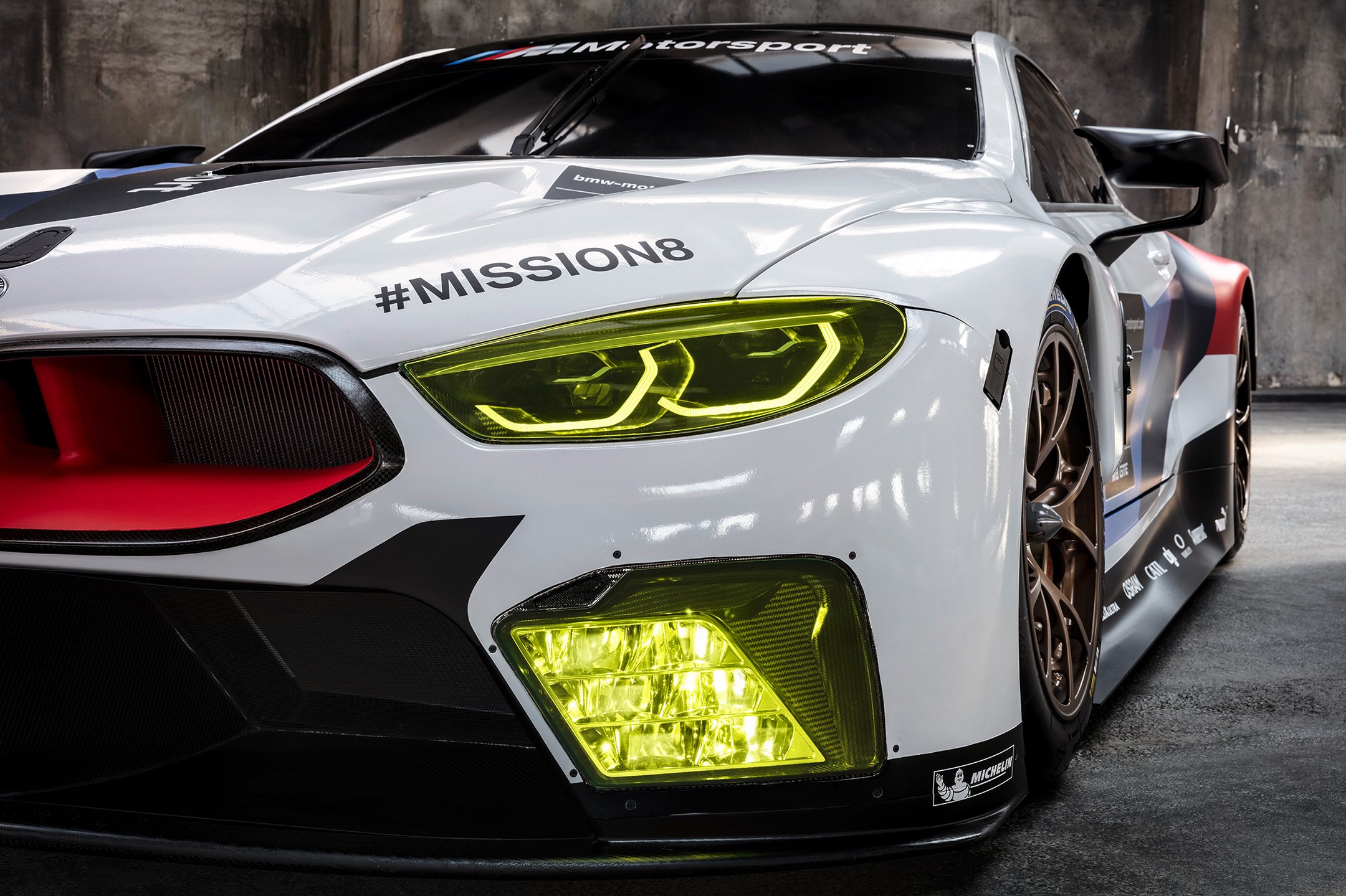 BMW M8 GTE - 2018 - front light