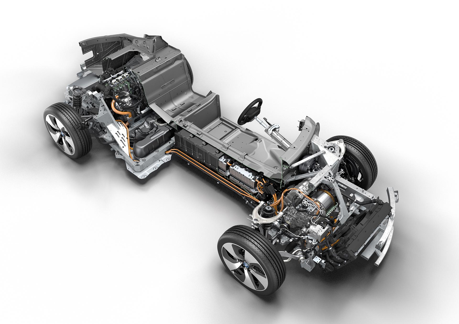 BMW i8 - hybrid powertrain