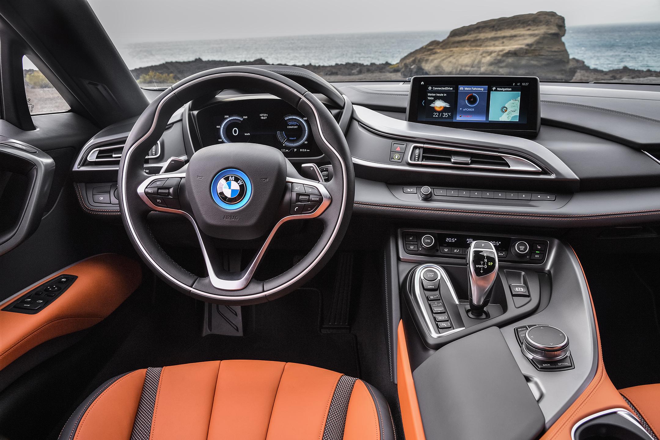BMW i8 Roadster - 2017 - interior / intérieur