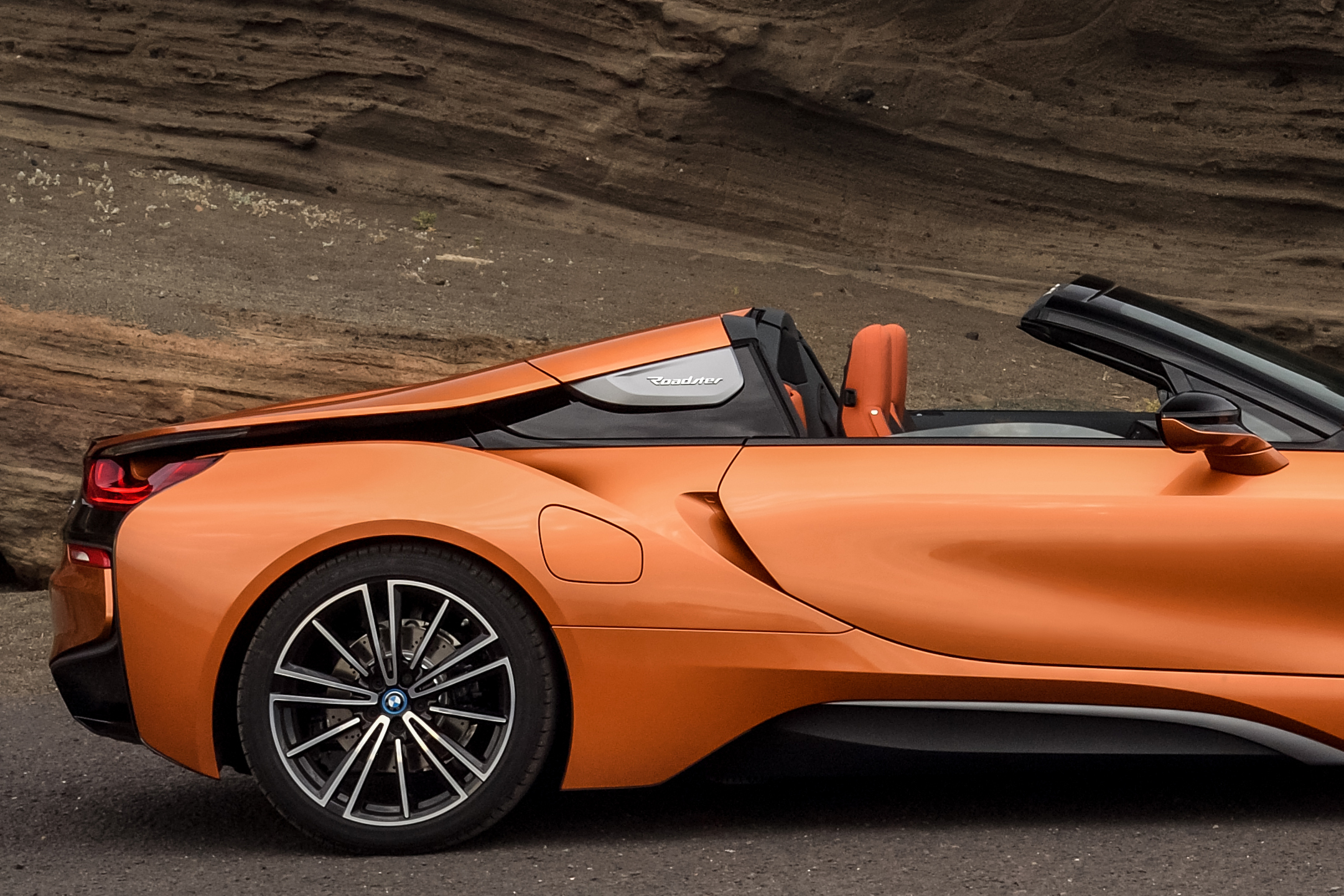 BMW i8 Roadster - 2017 - rear wheel