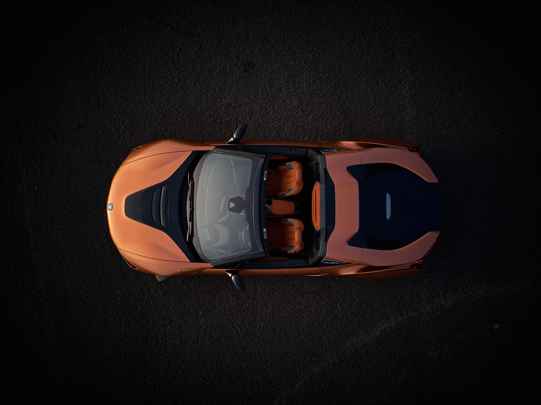 BMW i8 Roadster - 2017 - top view