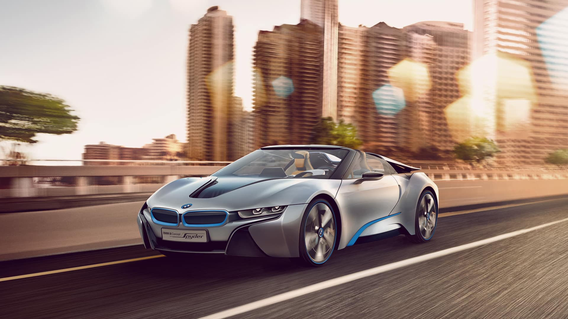 BMW i8 Concept Spyder - 2012