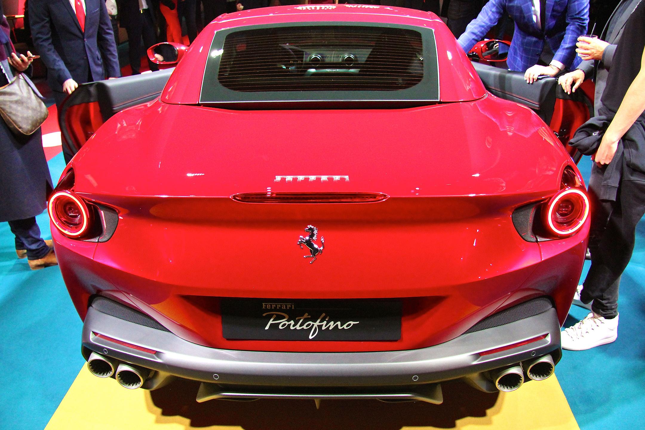Ferrari Portofino - 2017 - rear / arrière - présentation Ferrari France - photo Ludo Ferrari