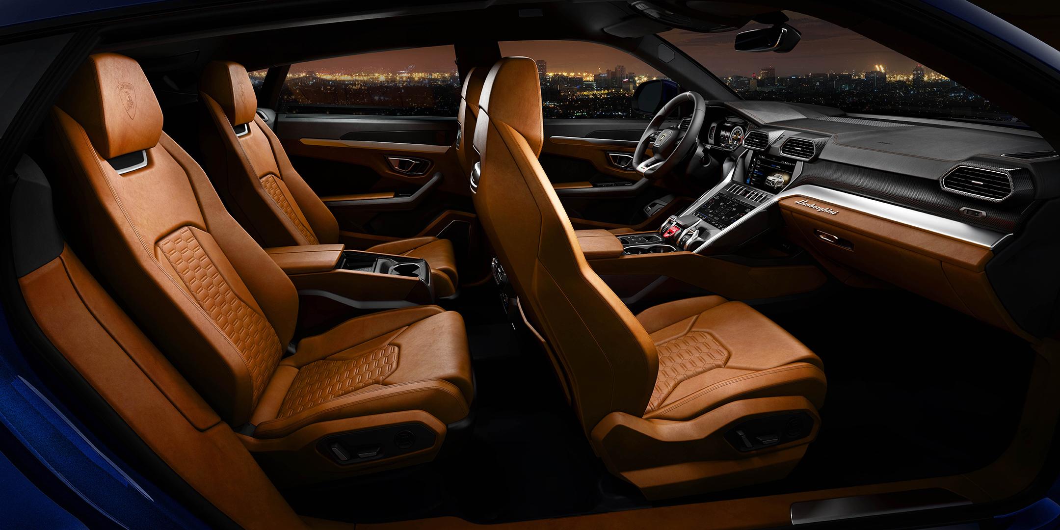 Lamborghini Urus - 2018 - seats / sièges