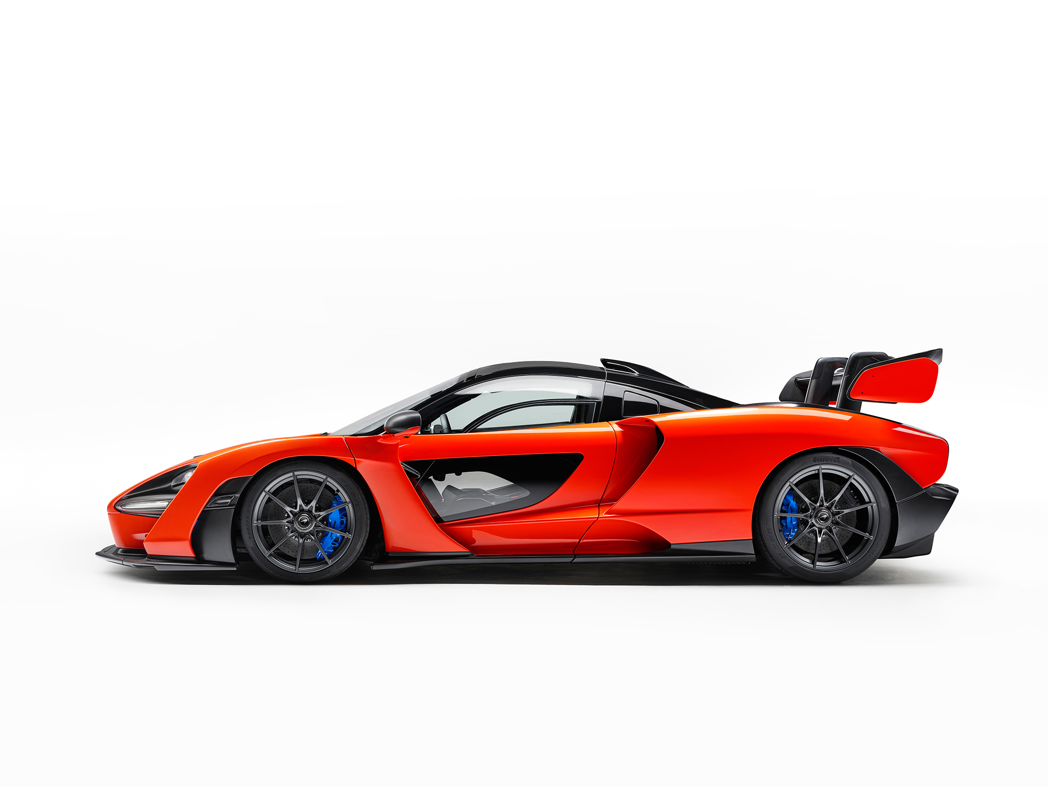 McLaren Senna - 2018 - side-face / profil