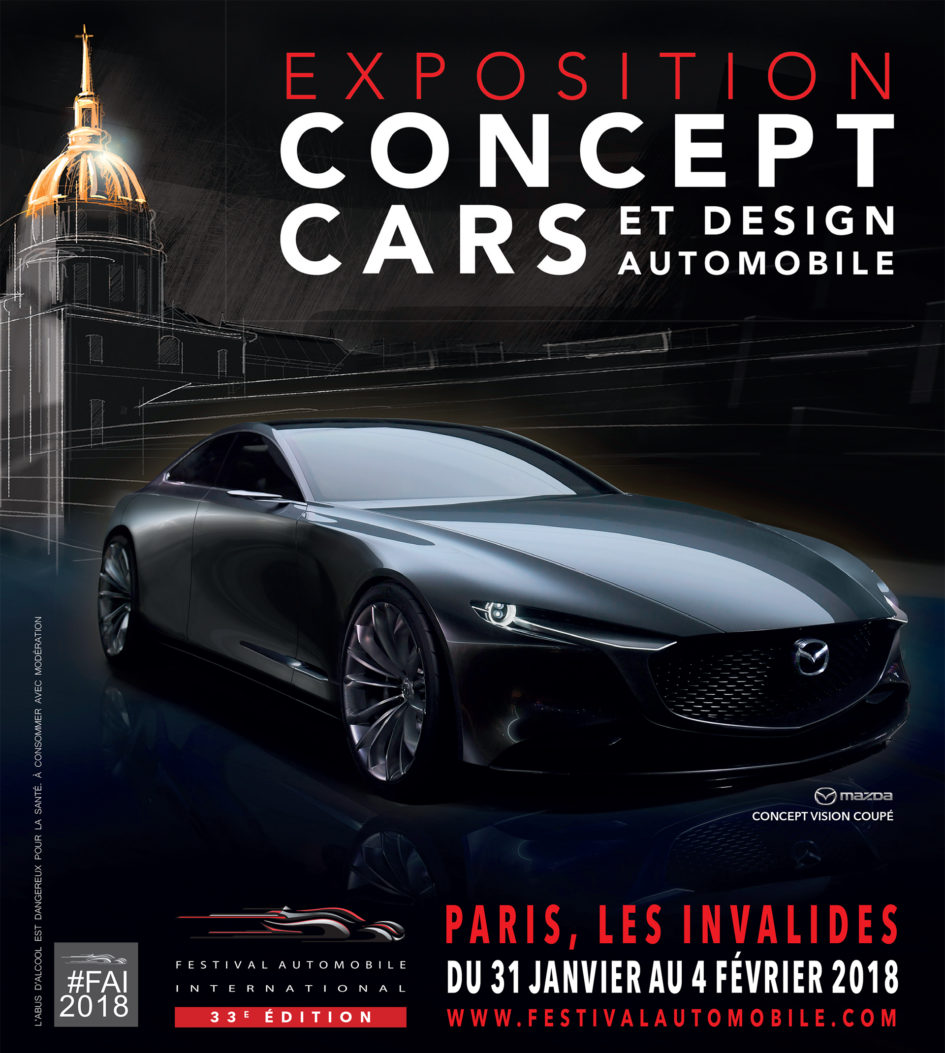 Festival Automobile International 2018 - poster