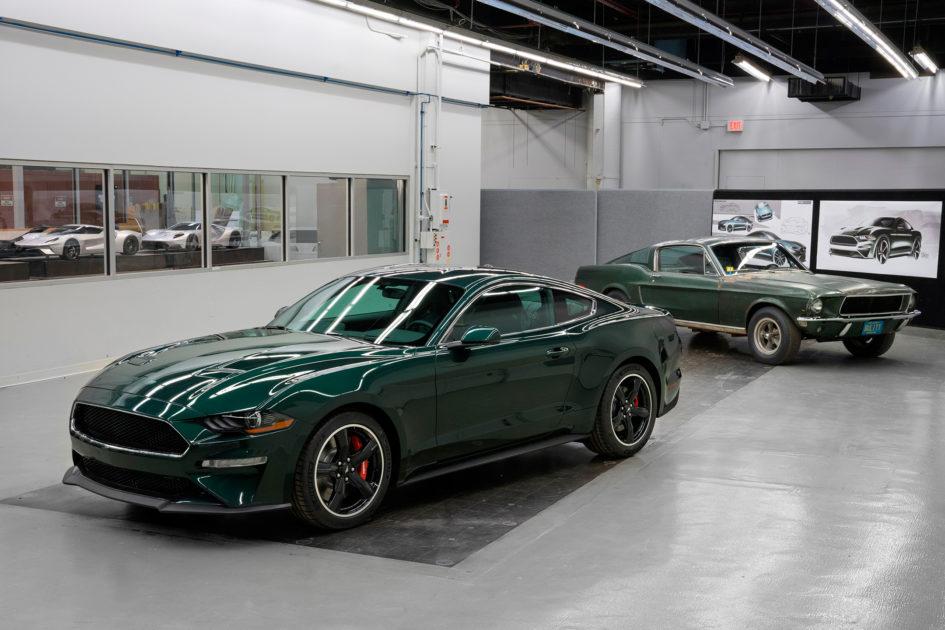 Ford Mustang Bullitt - 2018 - Mustang GT Fastback Bullitt - 1968 - heritage