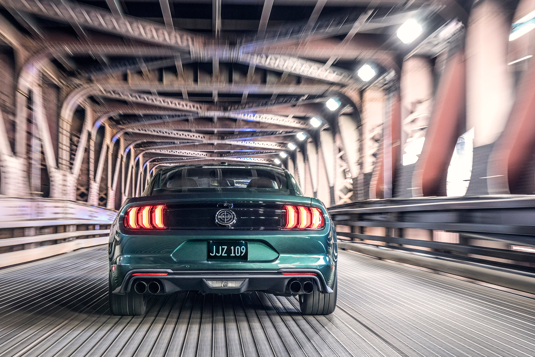 Ford Mustang Bullitt - 2018 - rear / arrière