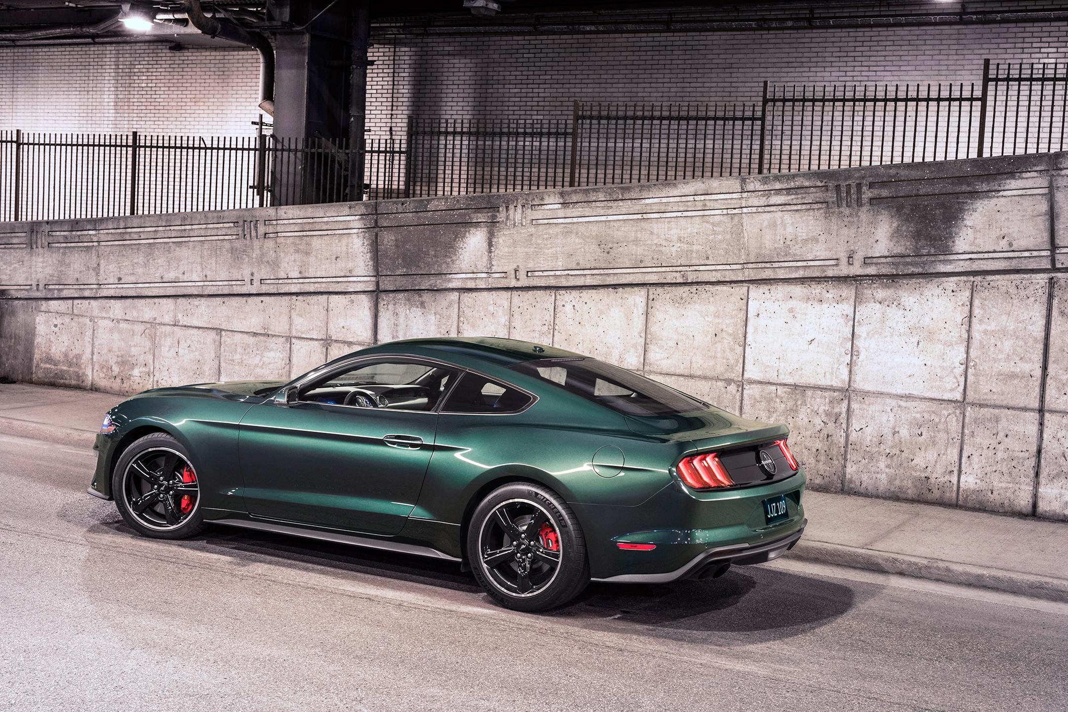 Ford Mustang Bullitt - 2018 - side-face / profil