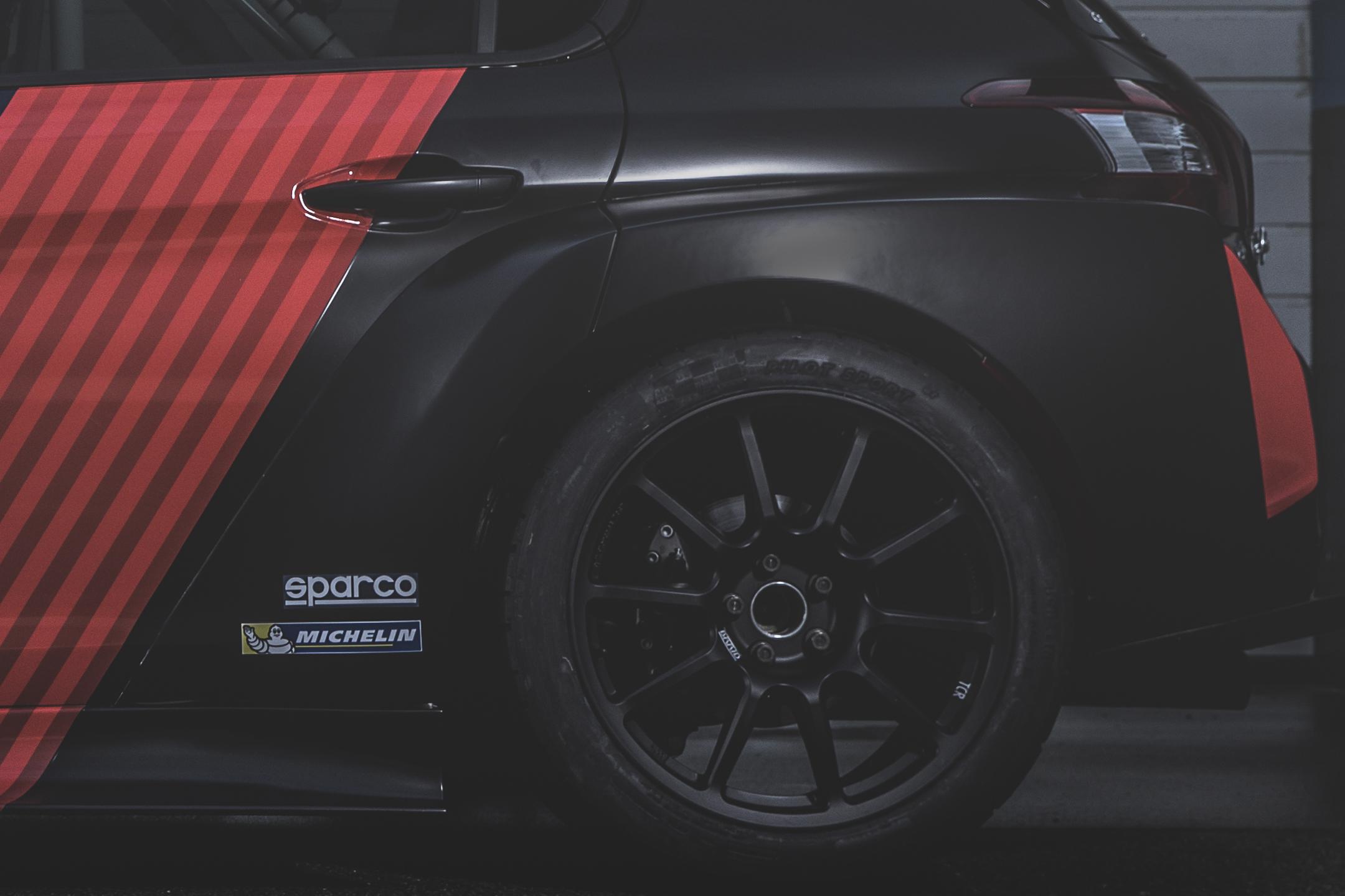 Peugeot 308TCR - 2018 - rear wheel / jante arrière