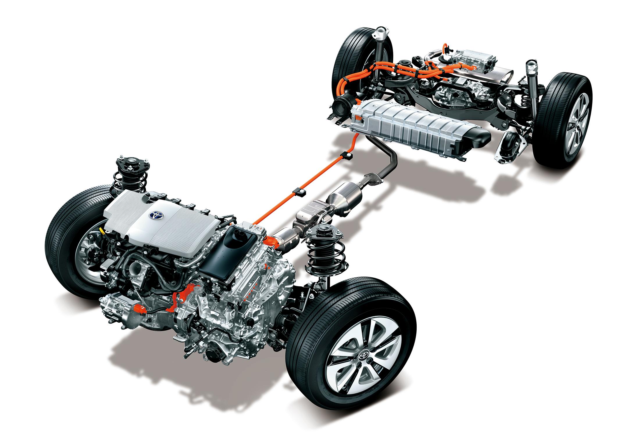 Toyota - 2010 - powertrain Hybrid System