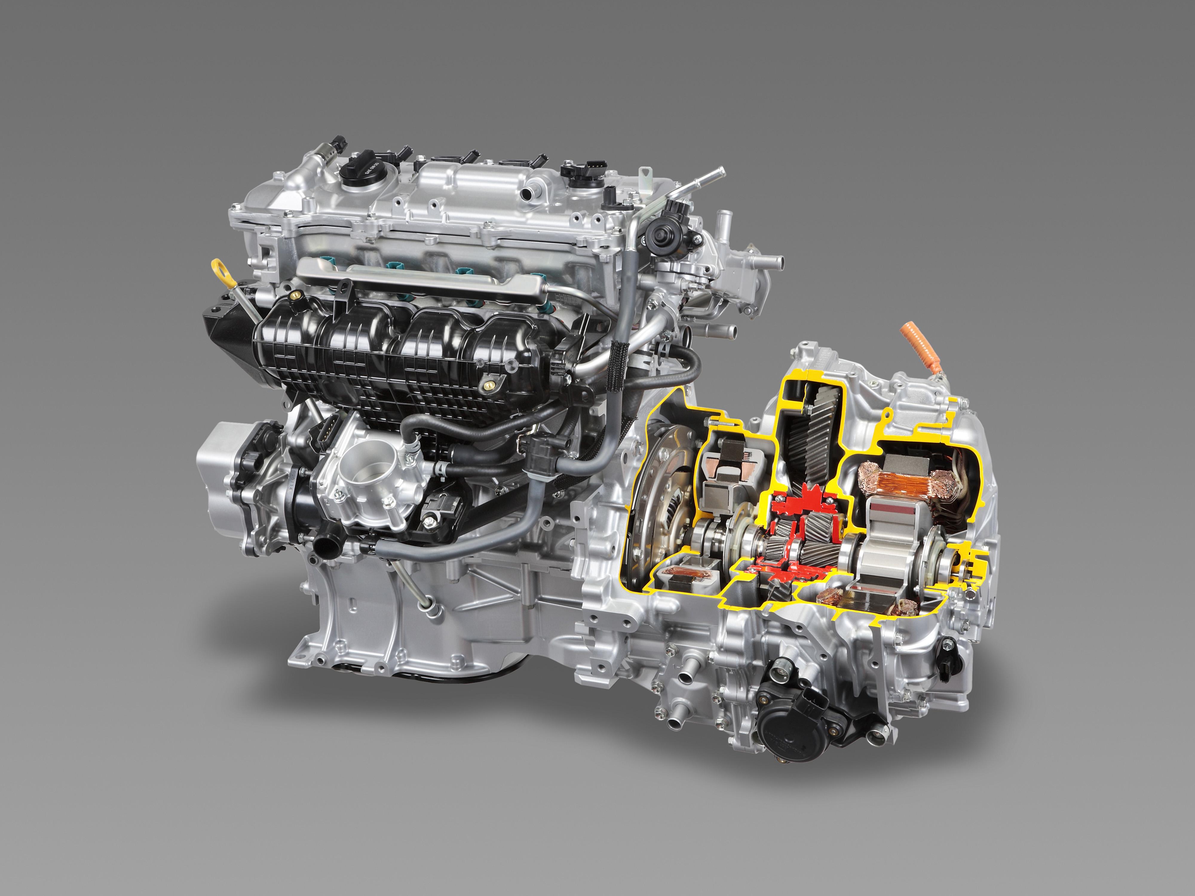 Toyota - 2015 - engine Hybrid System
