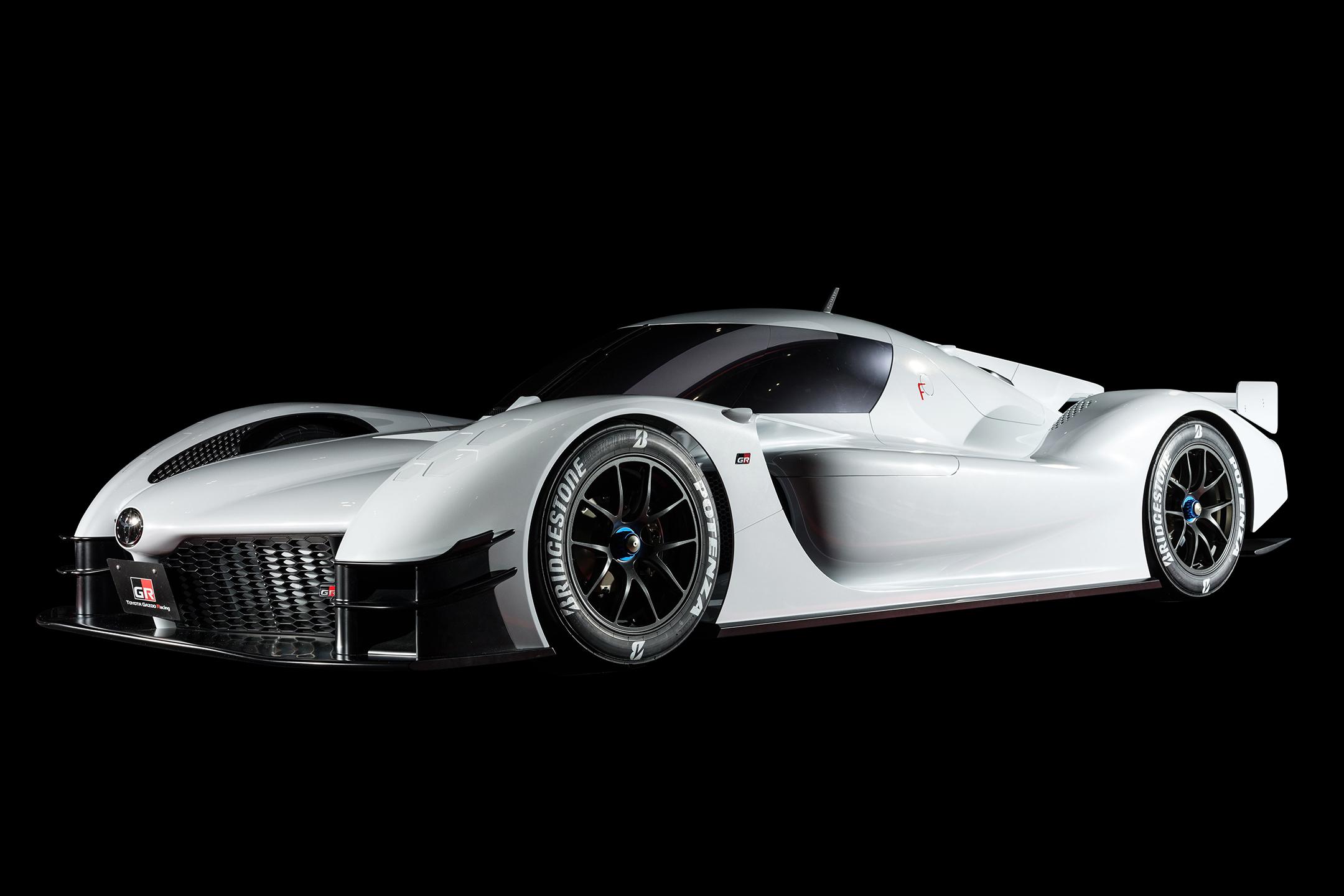 Toyota GR Super Sport Concept - 2018 - front side-face / profil avant