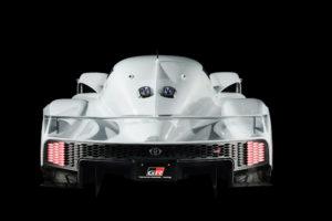Toyota GR Super Sport Concept - 2018 - rear face / face arrière