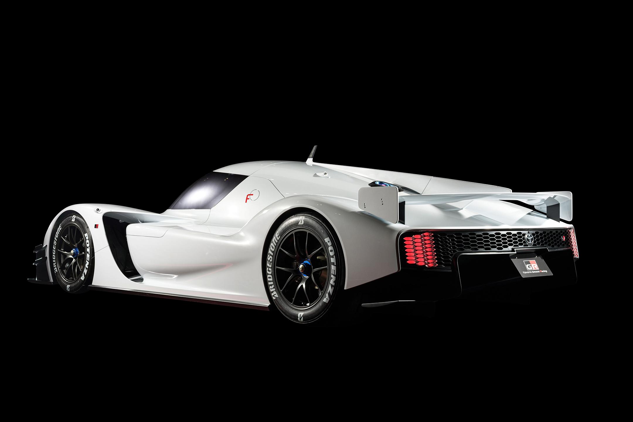 Toyota GR Super Sport Concept - 2018 - rear side-face / profil arrière
