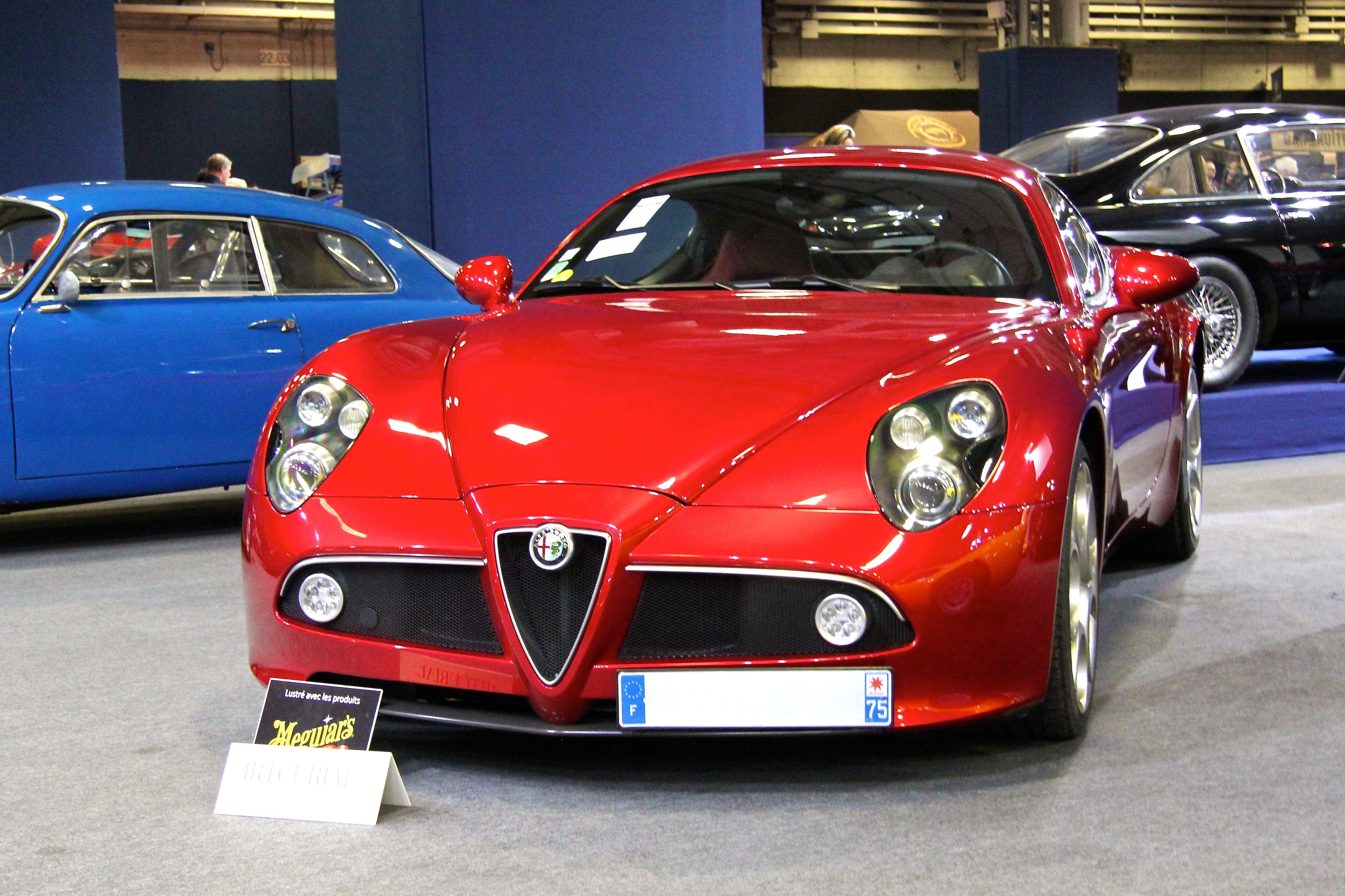 Alfa Romeo 8C Competizione - 2008 - Retromobile - Artcurial - 2018 - photo Ludo Ferrari