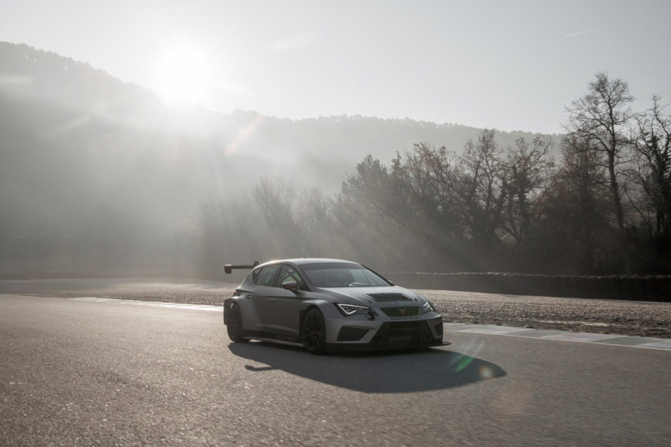 CUPRA TCR - 2018 - front