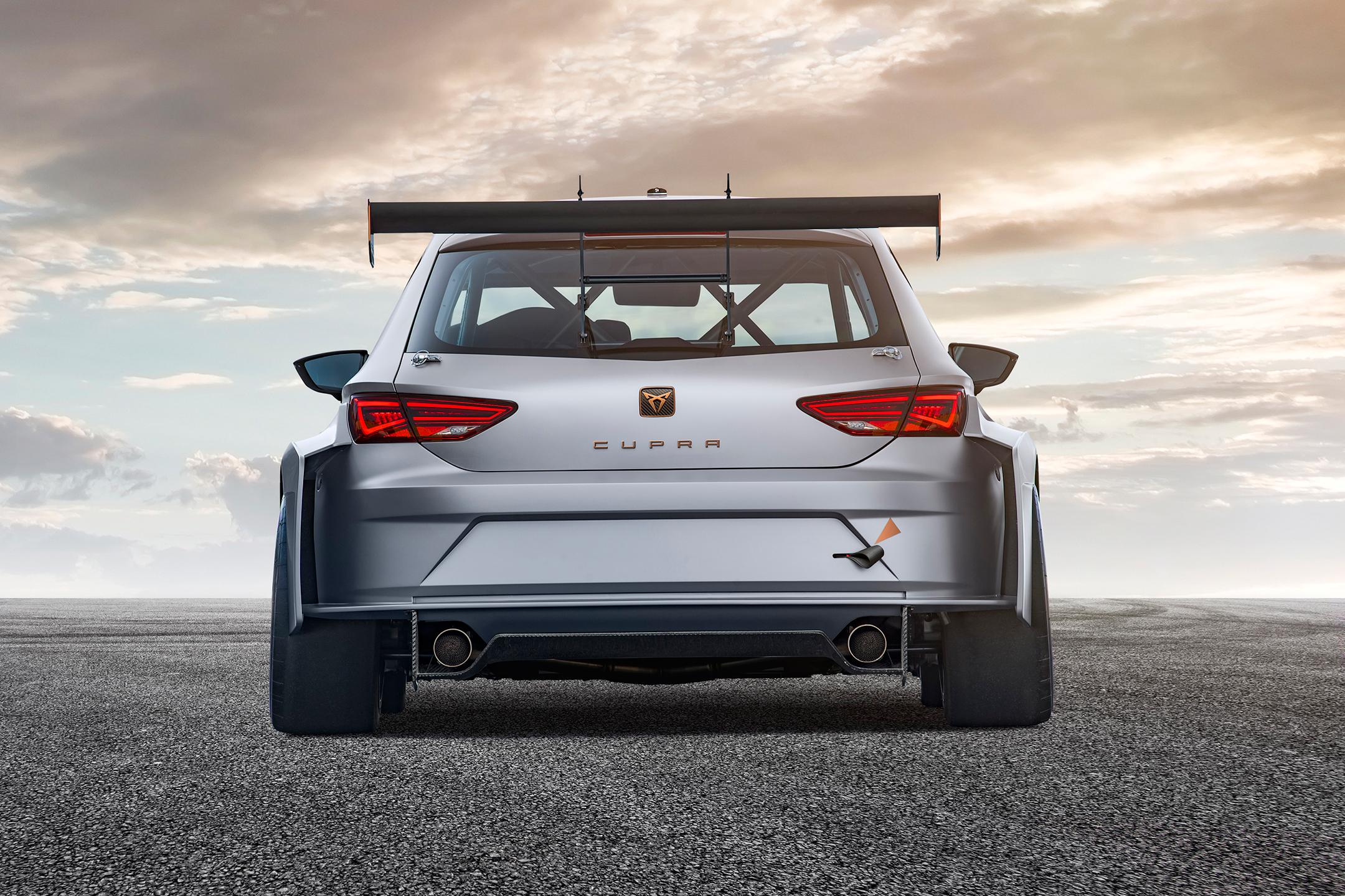 CUPRA TCR - 2018 - rear face / face arrière