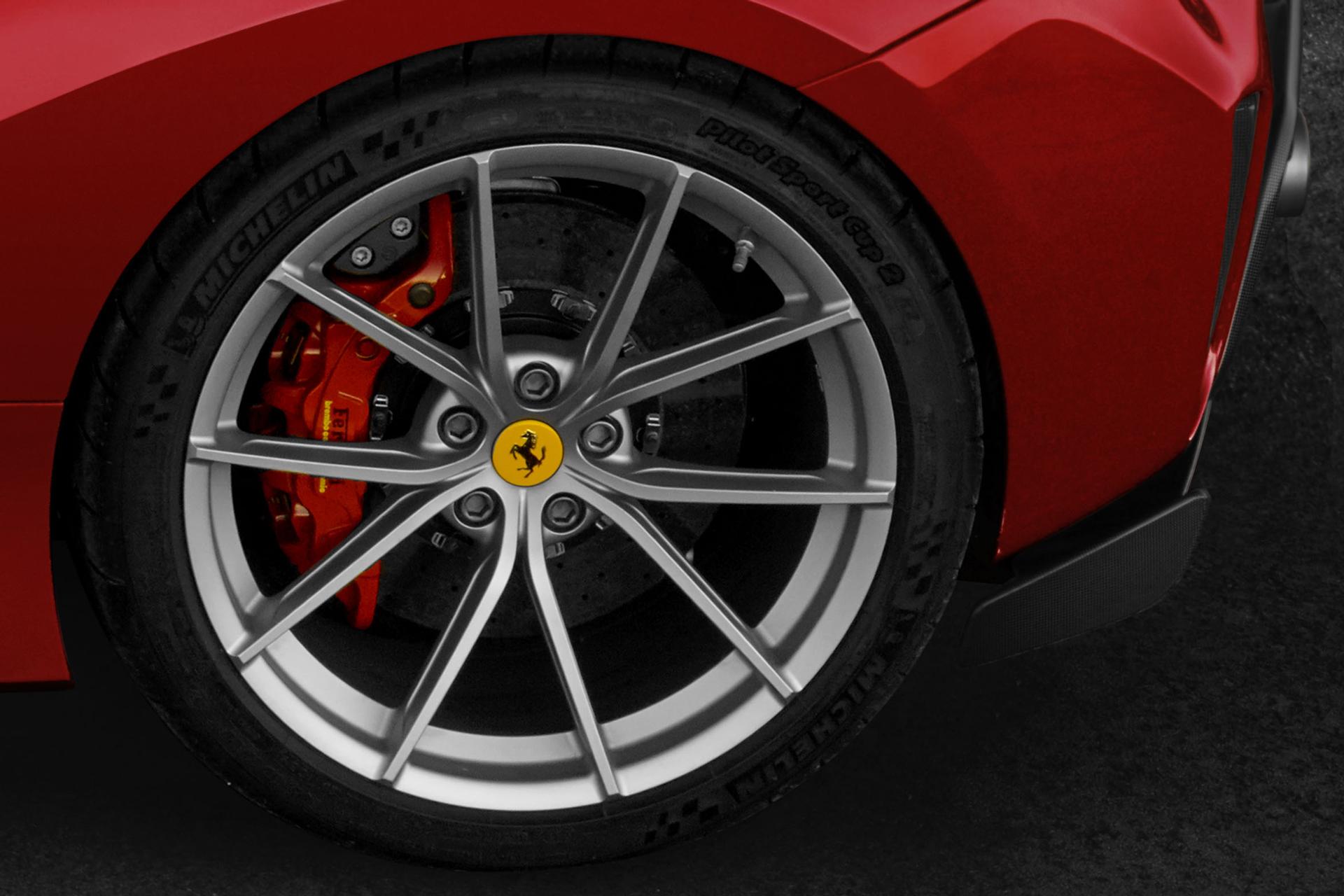Ferrari 488 Pista - 2018 - front wheel / jante avant