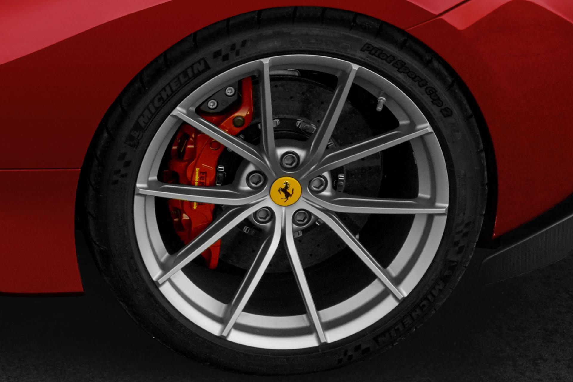 Ferrari 488 Pista - 2018 - rear wheel / jante arrière