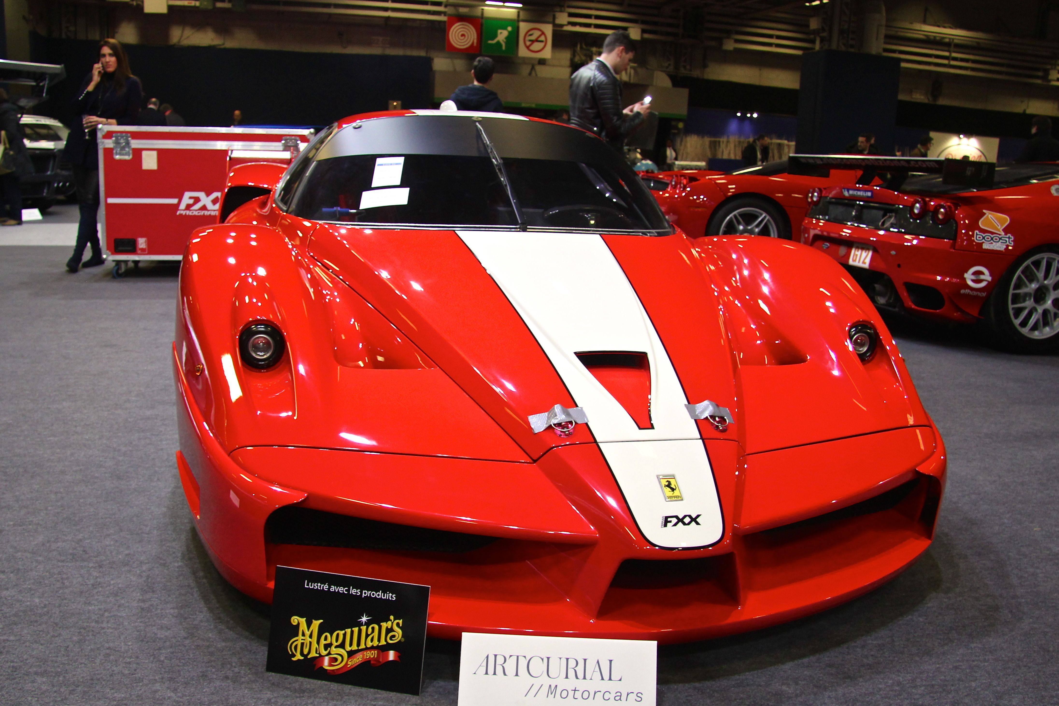 Ferrari FXX - 2006 - Retromobile - Artcurial - 2018 - photo Ludo Ferrari