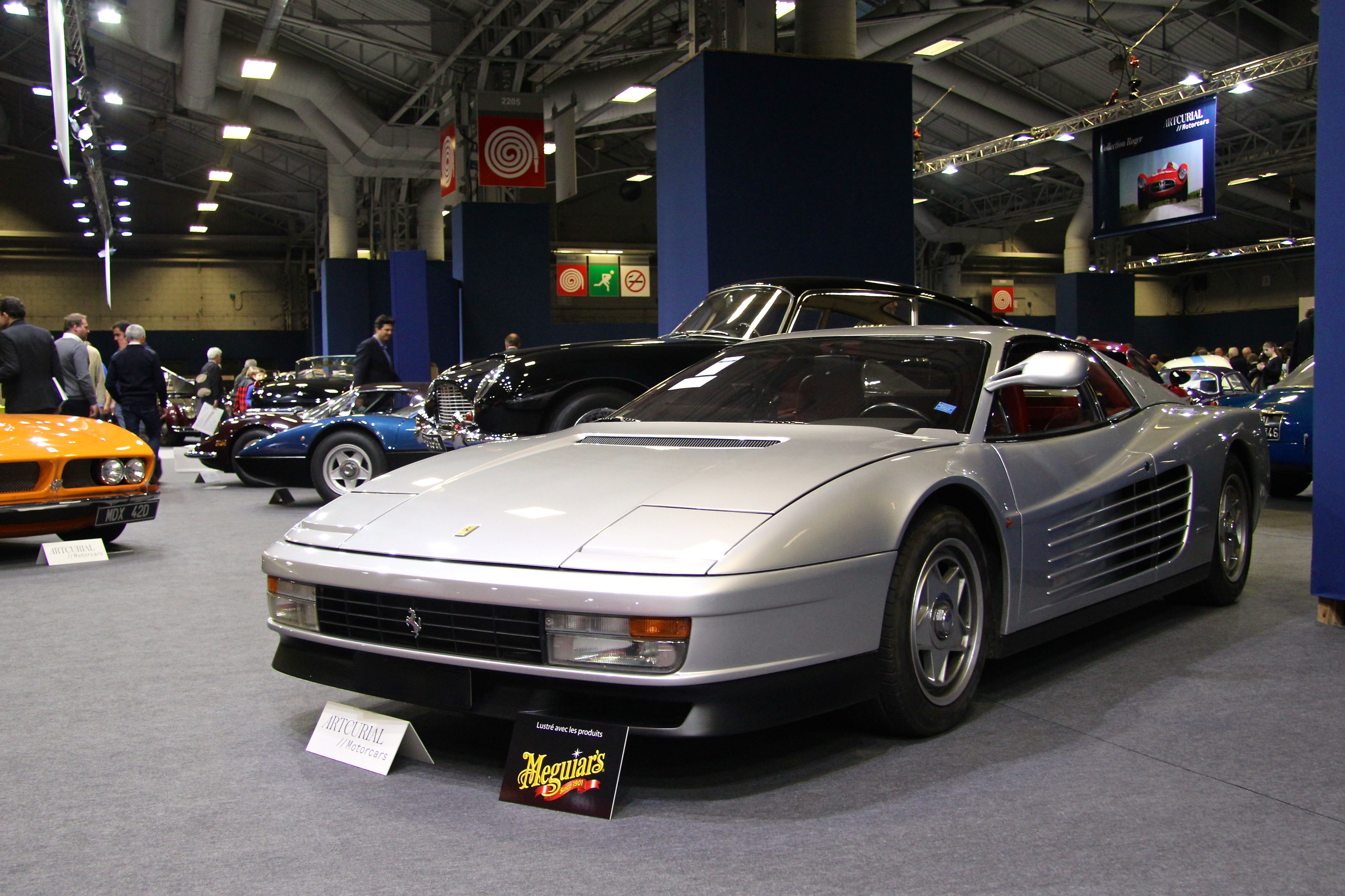 Ferrari Testarossa - 1986 - Retromobile - Artcurial - 2018 - photo Ludo Ferrari