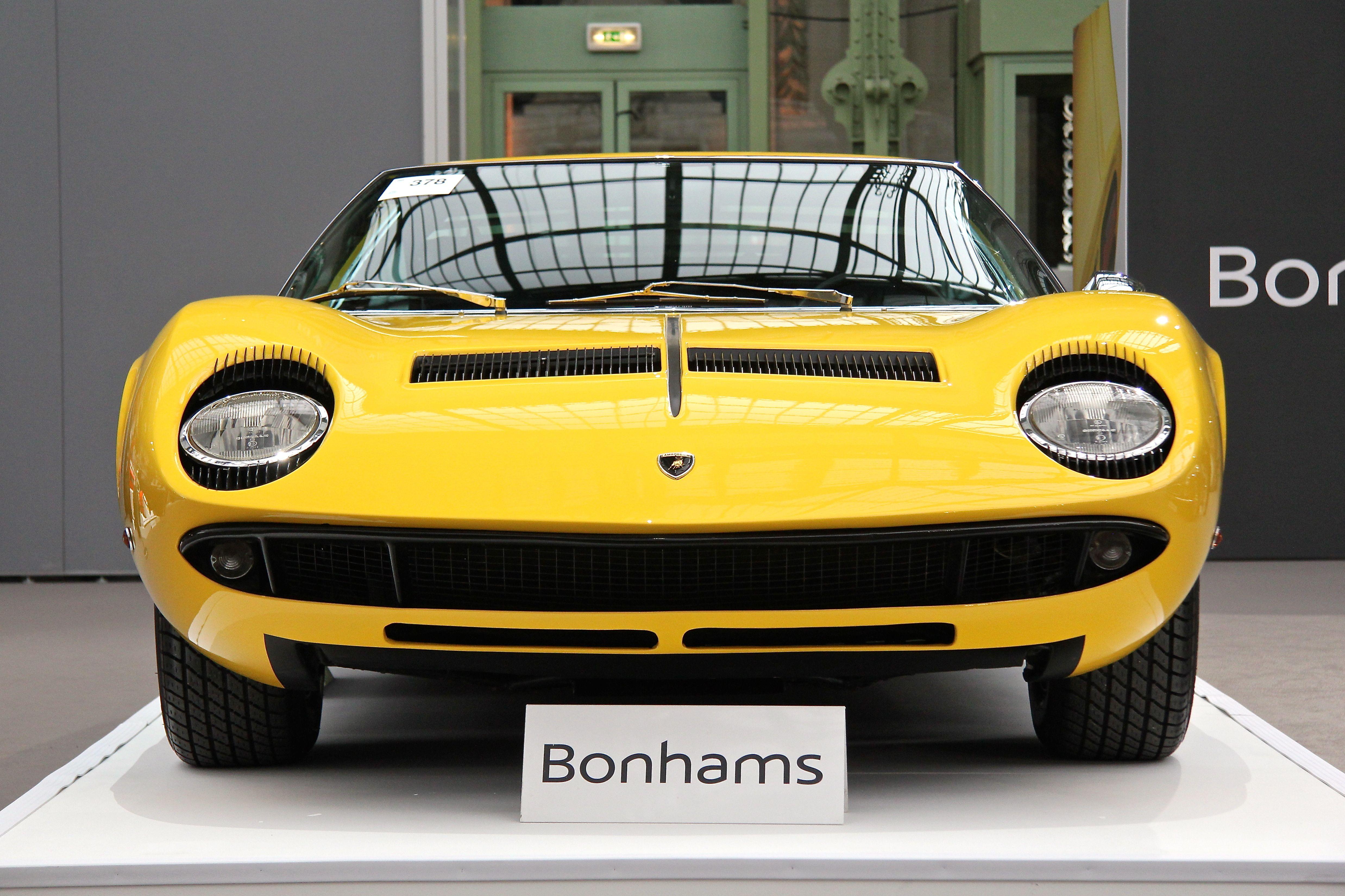 Lamborghini Miura P400 S - 1968 - Retromobile - Bonhams - 2018 - photo Ludo Ferrari