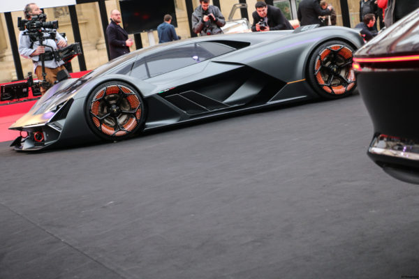Lamborghini Terzo Millennio Concept - front side - FAI 2018 - photo by Arnaud Demasier RS Photographie