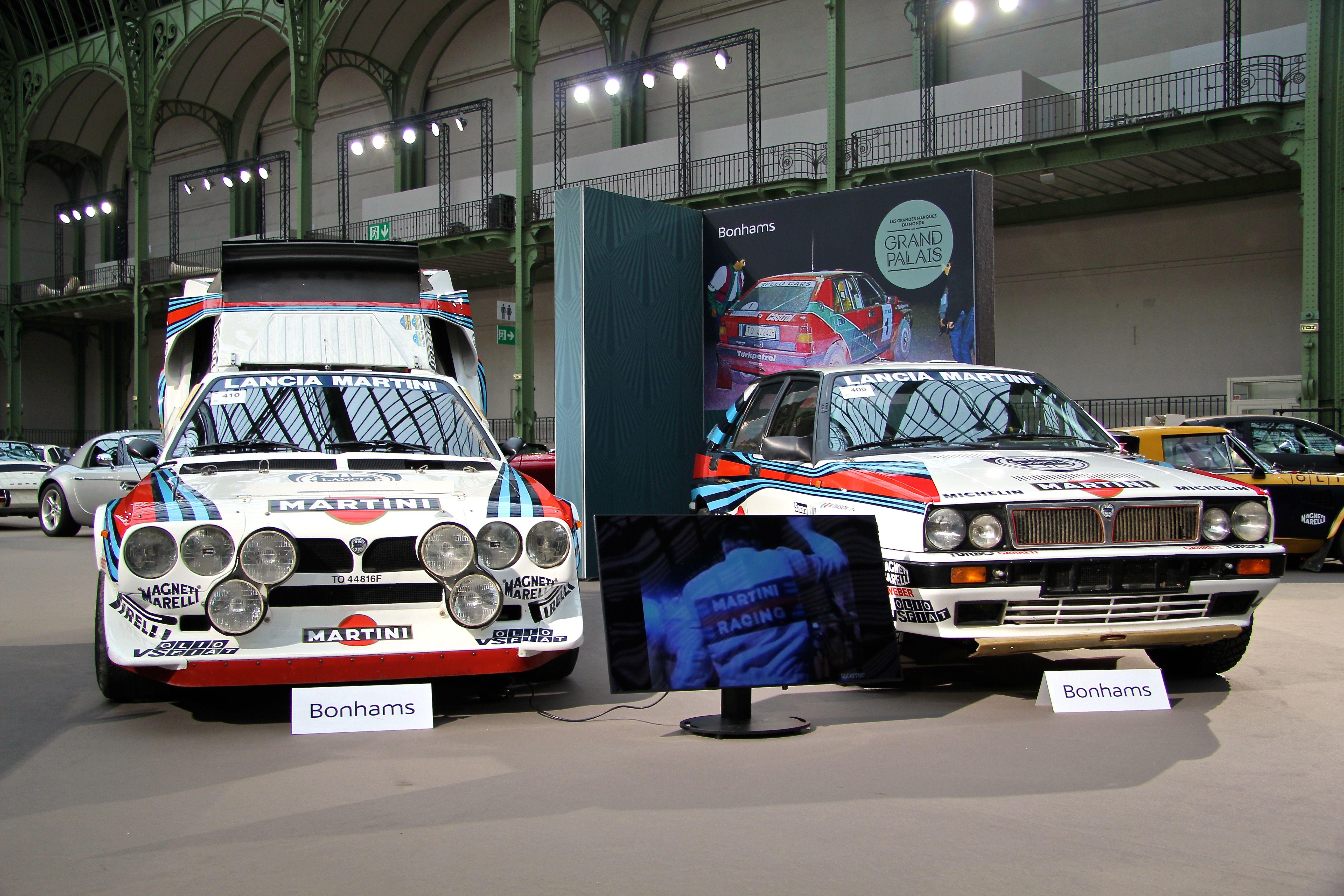 Lancia Delta S4 GrpB - 1986 - Lancia Delta Integrale GrpA - 1988 - Retromobile - Bonhams - 2018 - photo Ludo Ferrari