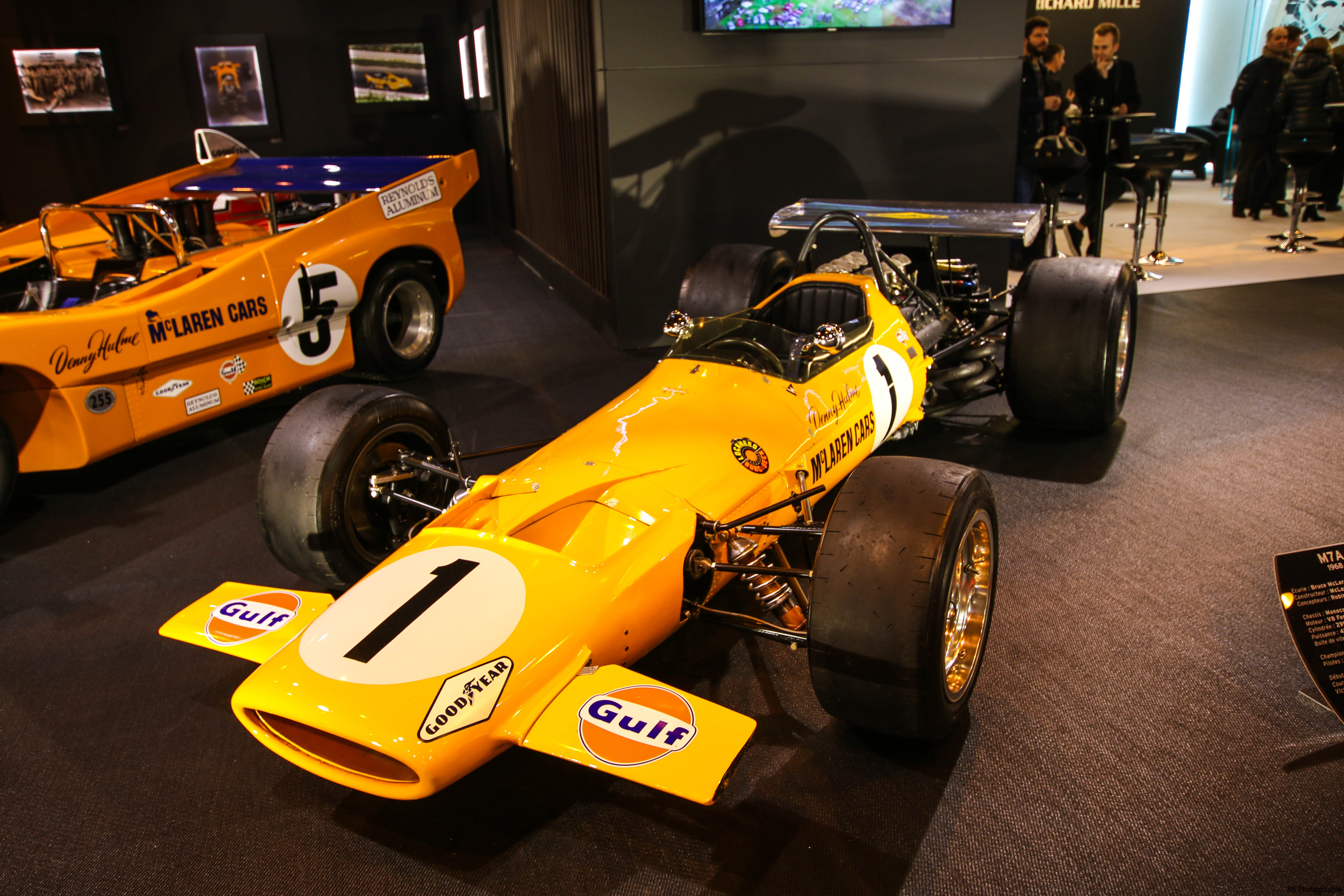 McLaren M7A - F1 1968 - stand Richard Mille - Retromobile 2018 - photo by Arnaud Demasier RS Photographie