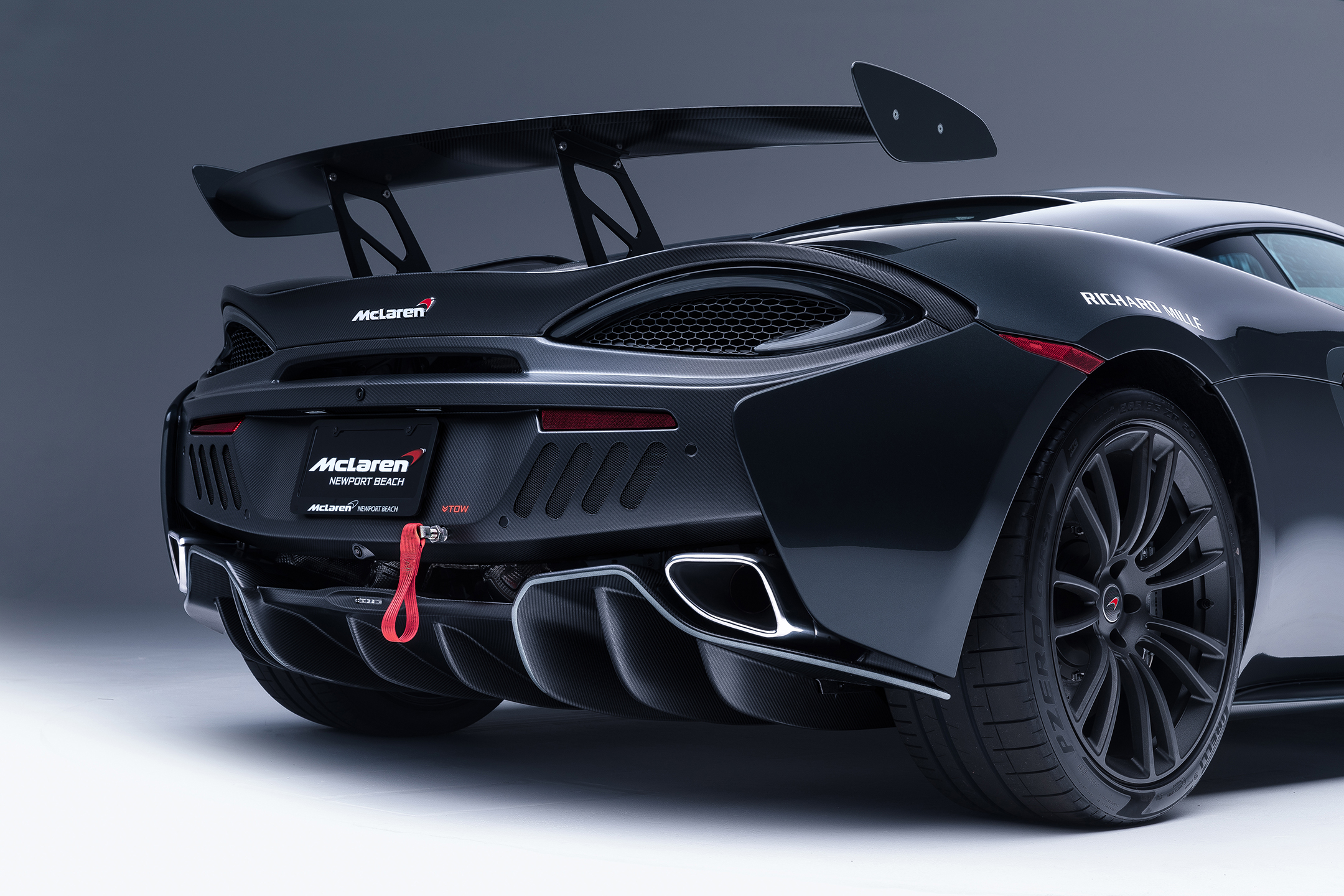 McLaren MSO X - 2018 - rear light
