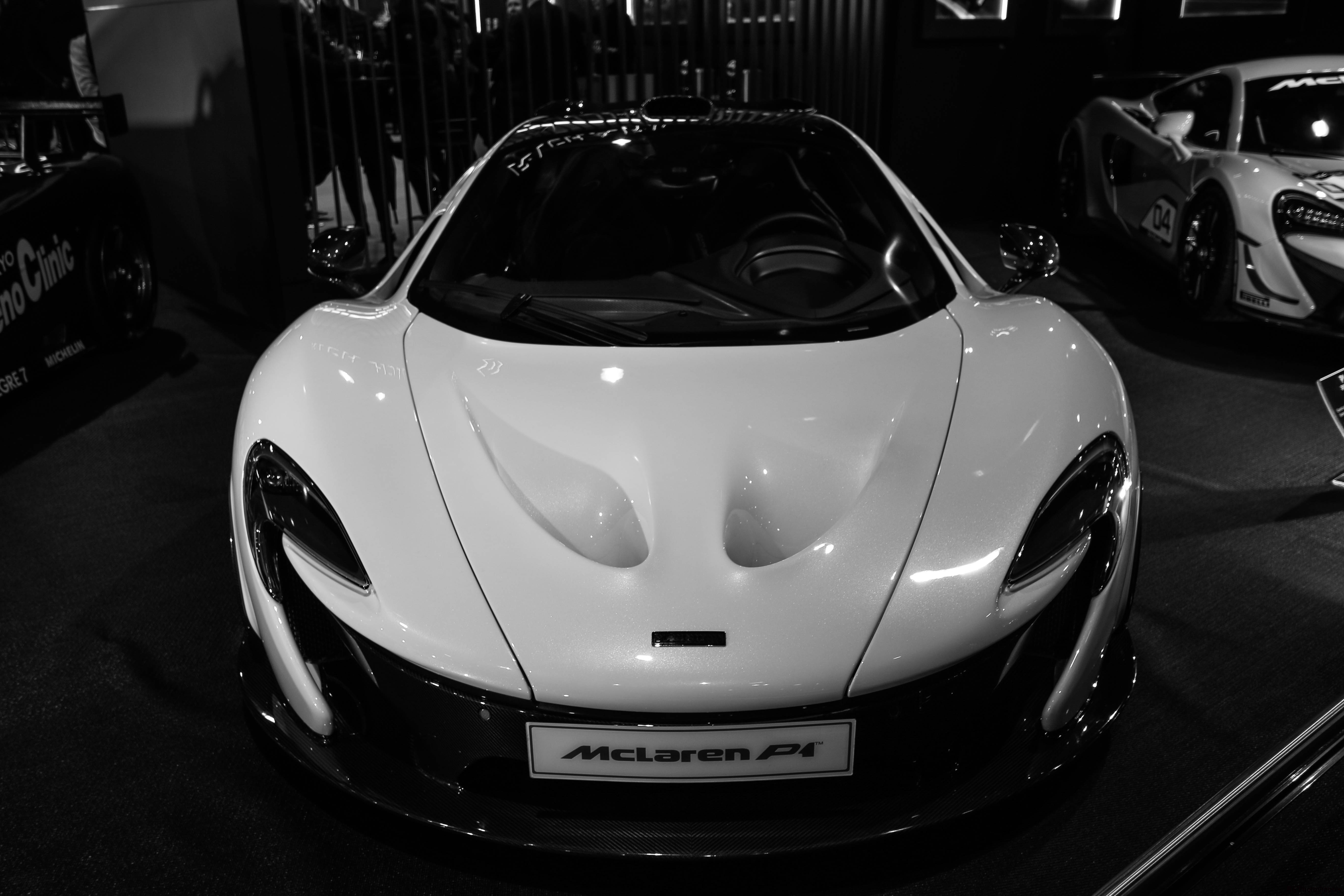McLaren P1 - 2013 - smile-face - stand Richard Mille - Retromobile 2018 - photo by Arnaud Demasier RS Photographie