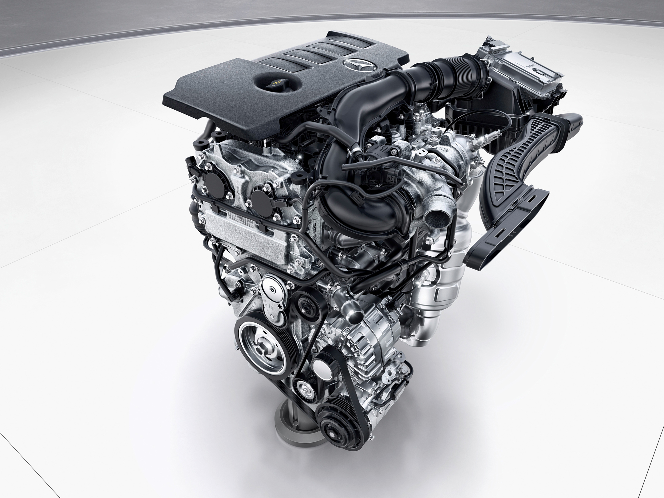 Mercedes-Benz A-Class - 2018 - engine M260 - 4-cylinder-gasoline