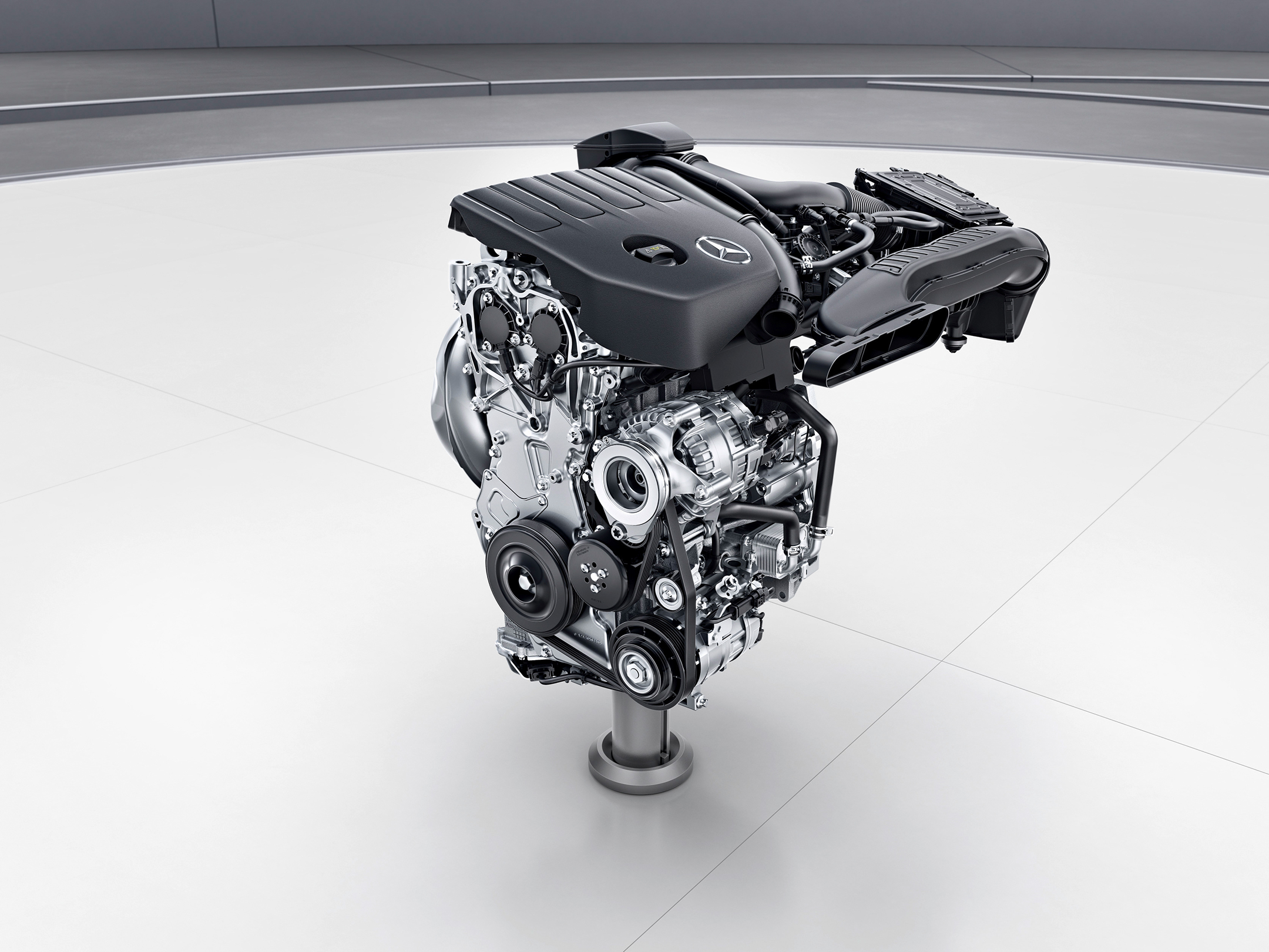 Mercedes-Benz A-Class - 2018 - engine M282 - 4-cylinder-gasoline