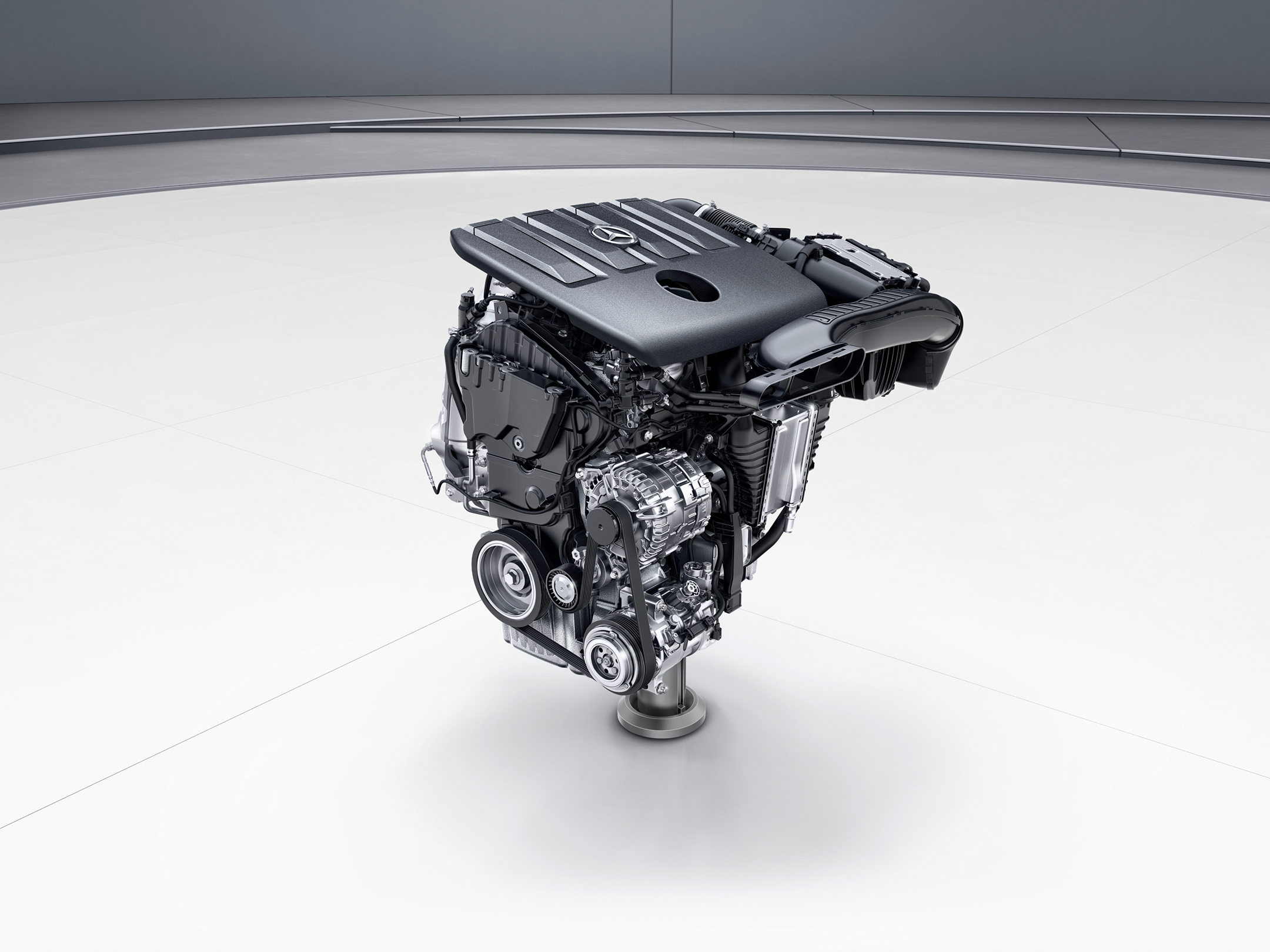 Mercedes-Benz A-Class - 2018 - engine OM608 - 4-cylinder-diesel
