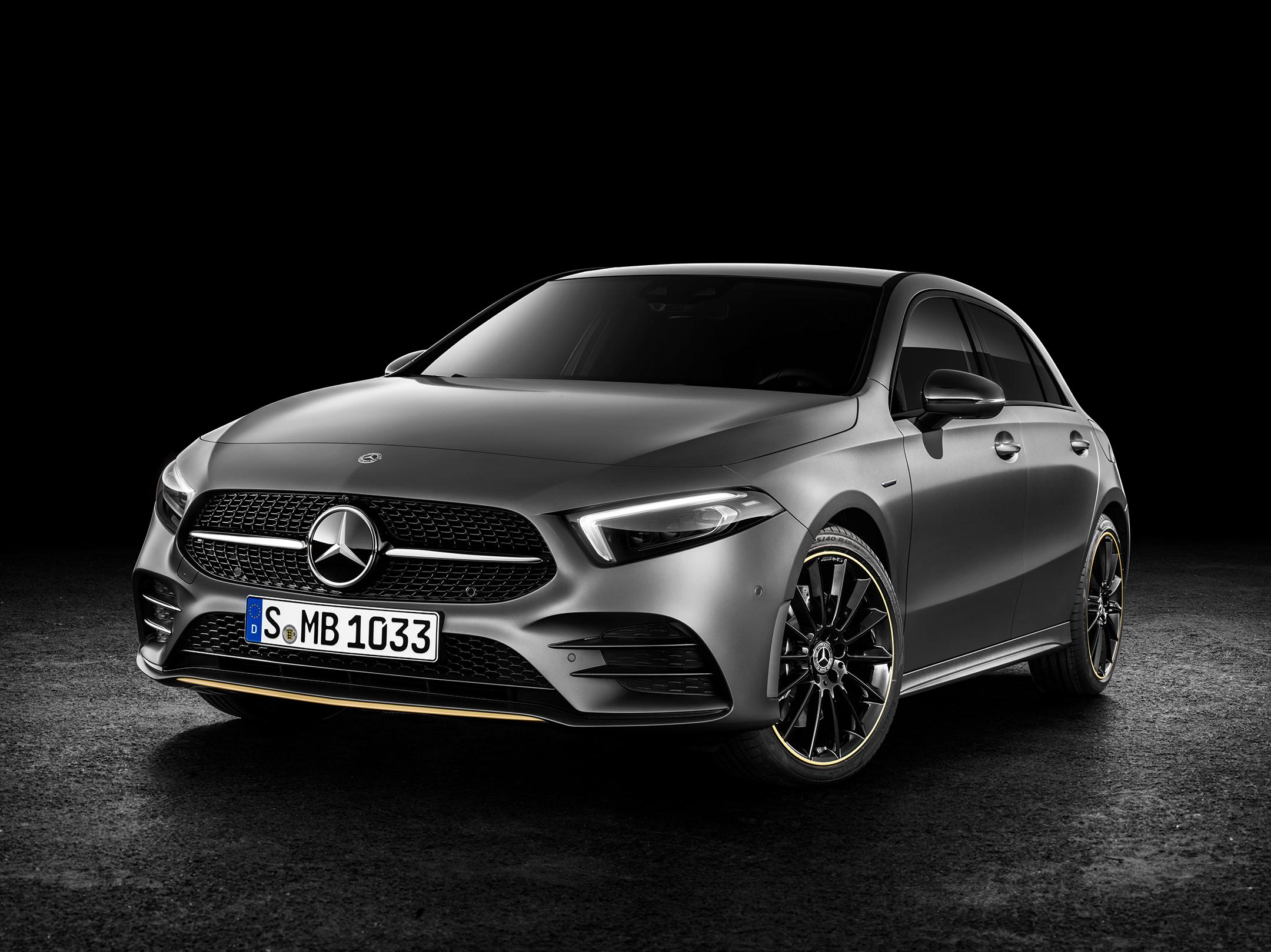 Mercedes-Benz A-Class - 2018 - front / avant