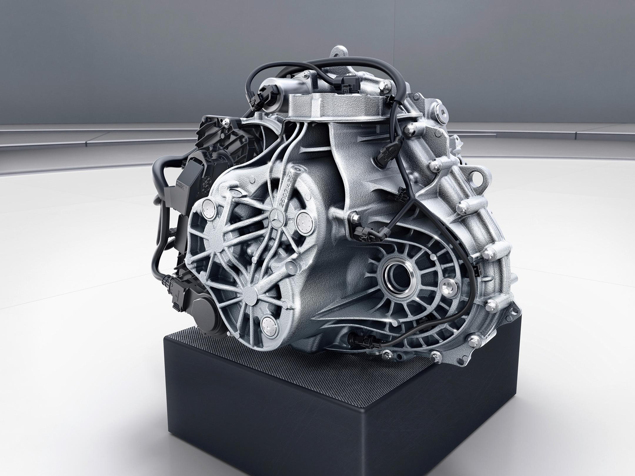 Mercedes-Benz A-Class - 2018 - gearbox - 7G-DCT gear drive