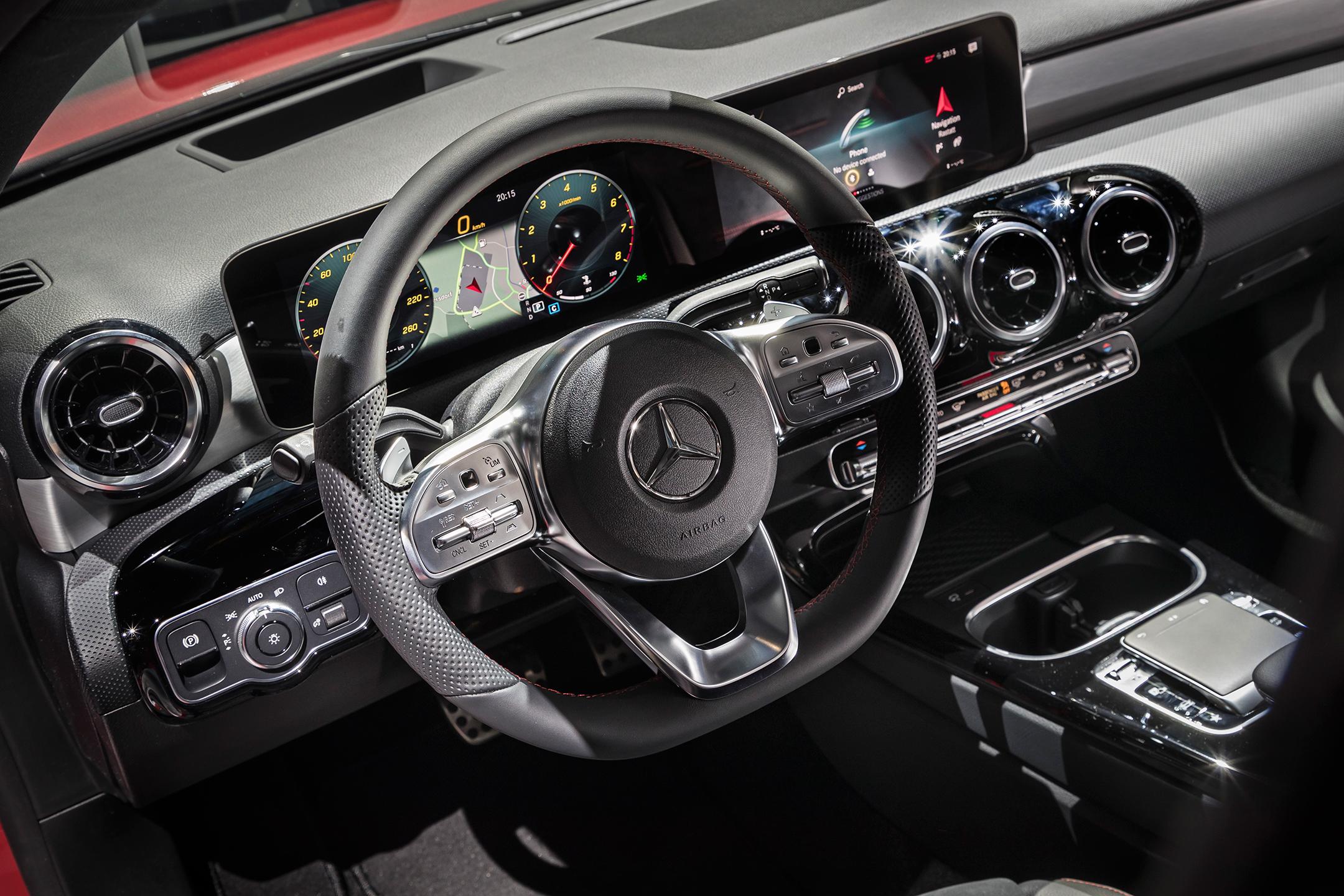 Mercedes-Benz A-Class - 2018 - interior / intérieur
