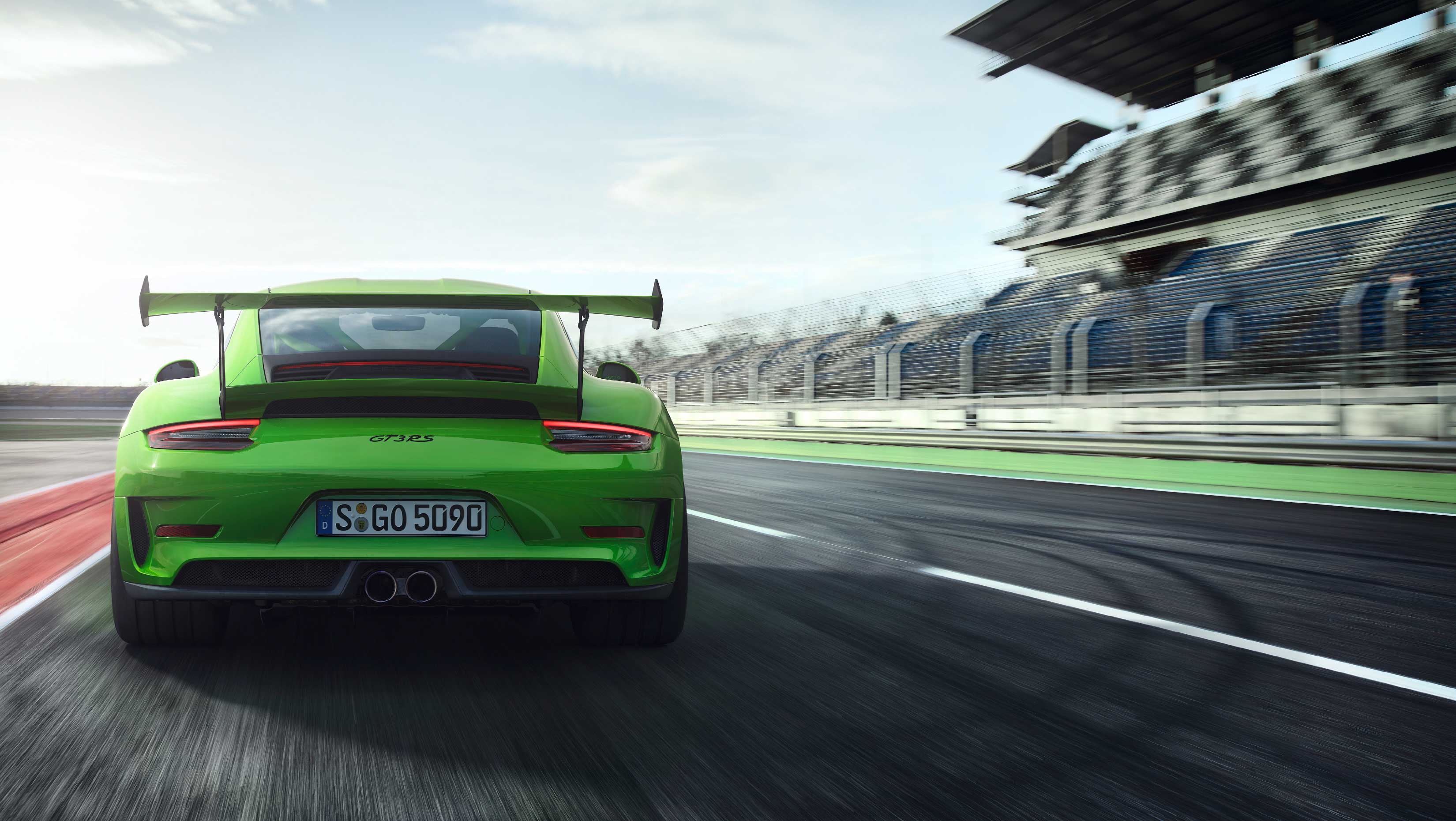 Porsche 911 GT3 RS - 2018 - rear face