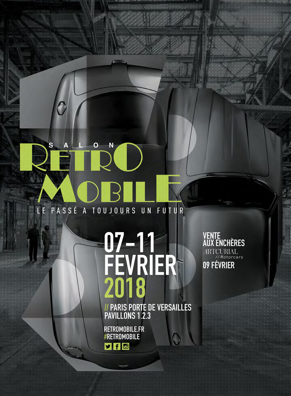 Retromobile - 2018 - poster