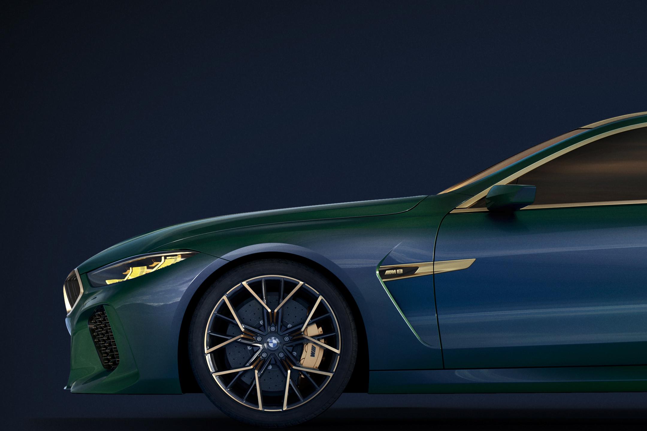 BMW Concept M8 Gran-Coupe - 2018 - front wheel / jante avant