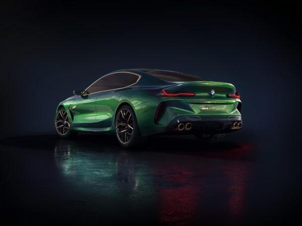 BMW Concept M8 Gran-Coupe - 2018 - rear side-face / profil arrière