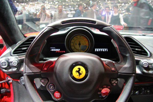 Ferrari 488 Pista - onboard - GimsSwiss - 2018 - photo Ludo Ferrari