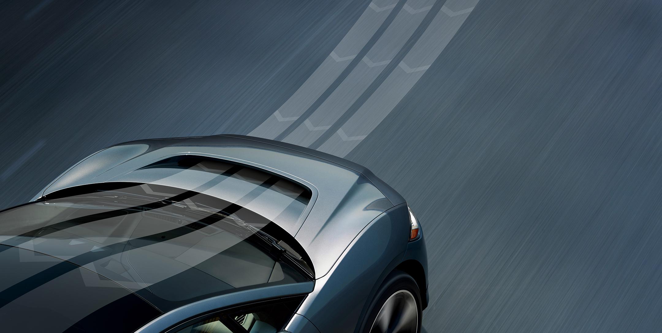 Jaguar I-PACE - 2018 - aero dynamic - front hood / capot avant