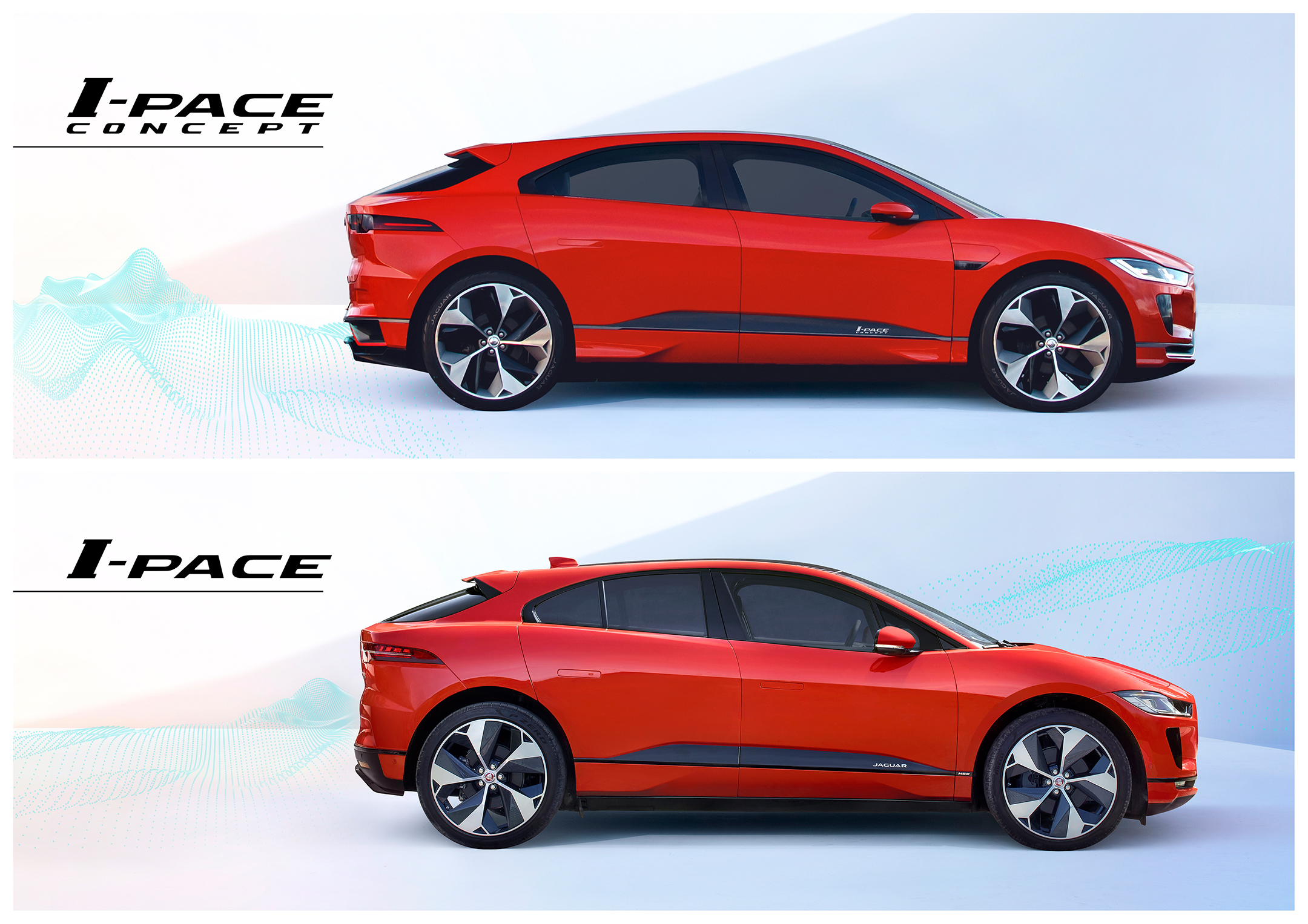 Jaguar I-PACE - 2018 - concept - production