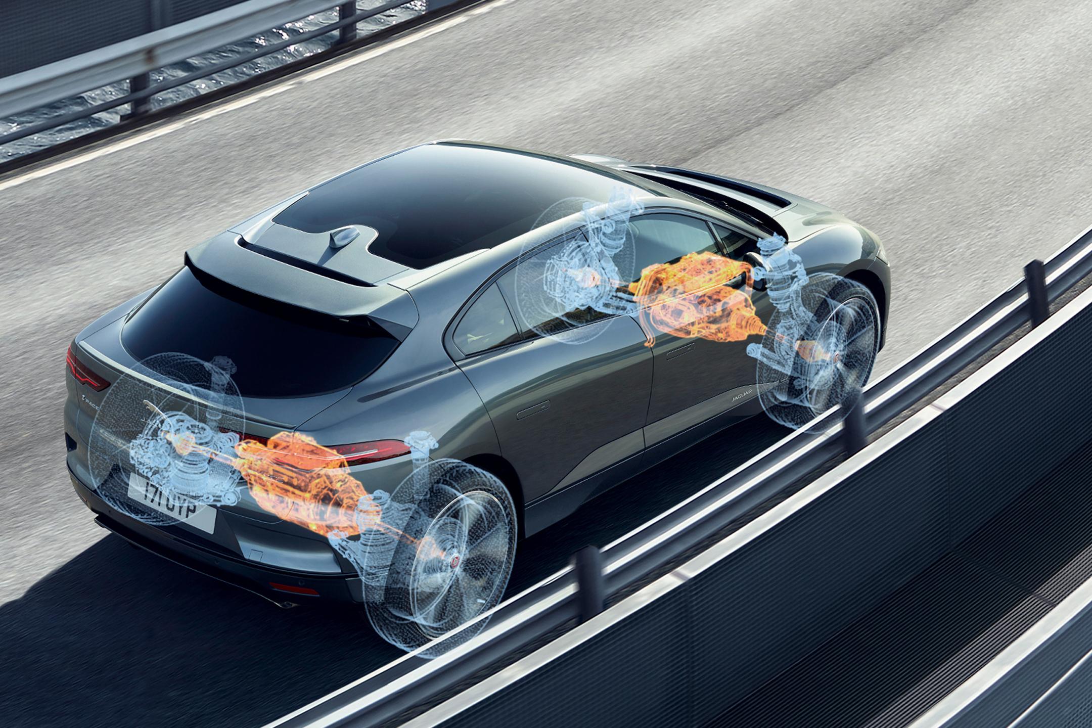 Jaguar I-PACE - 2018 - drivetrain