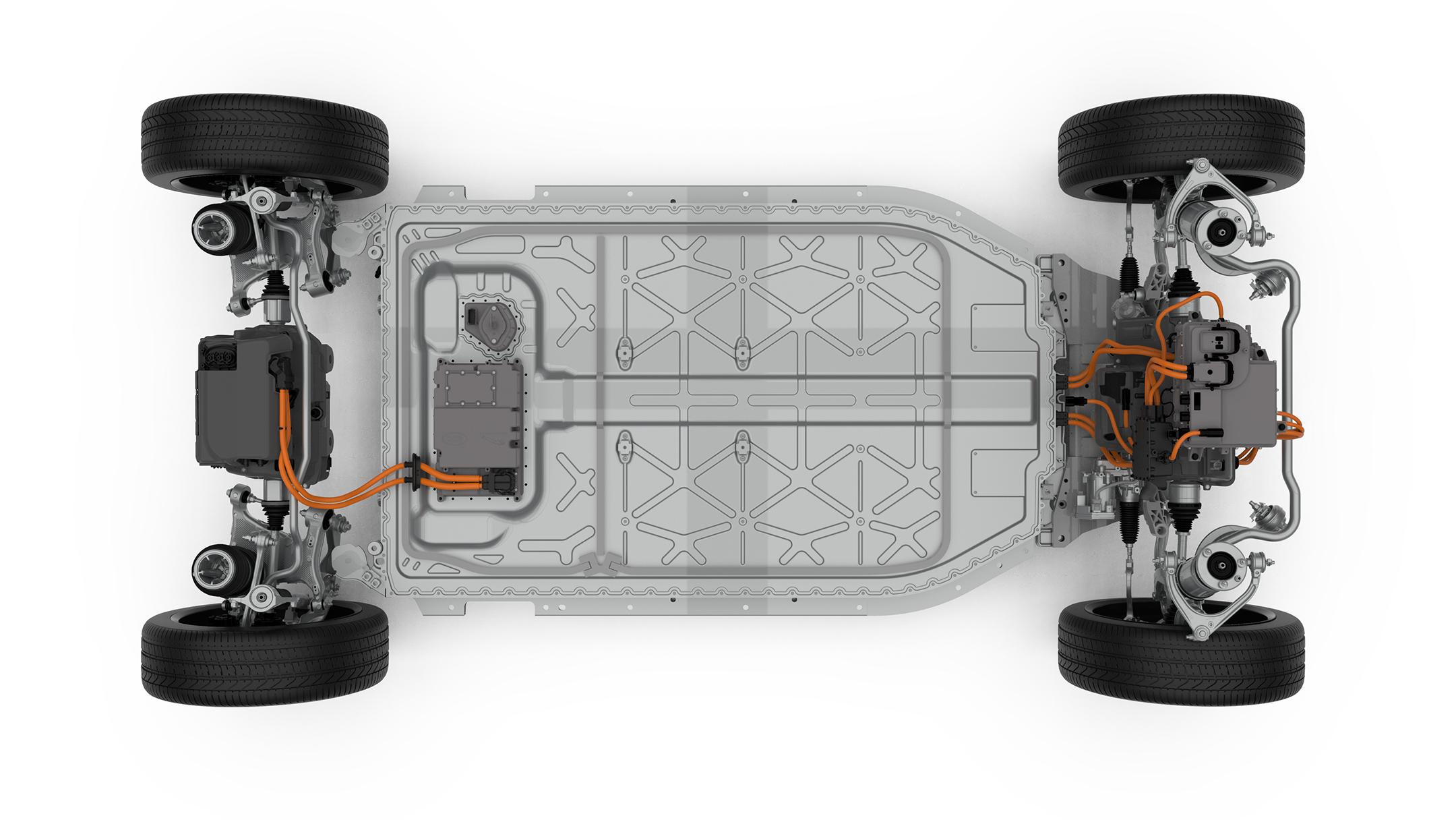 Jaguar I-PACE : véhicule à motorisation électrique électrifie la ...
