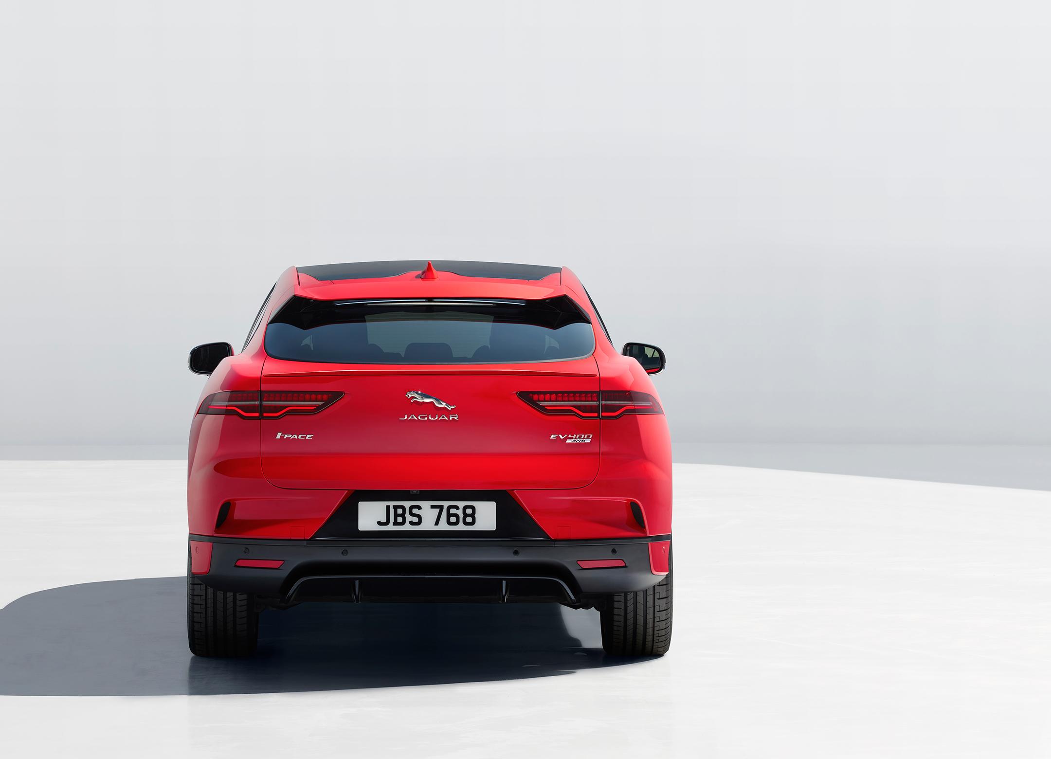 Jaguar I-PACE - 2018 - rear / arrière